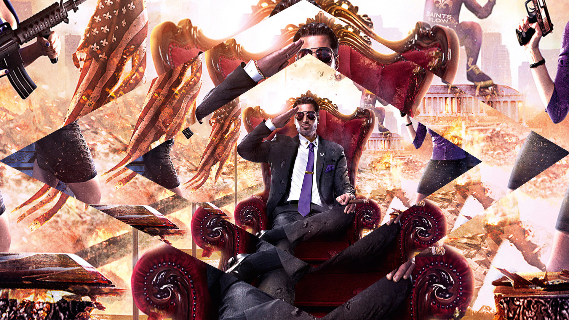 1920x1080 Saints Row IV Wallpaper by dinamito3000 Saints Row IV Wallpaper by  dinamito3000