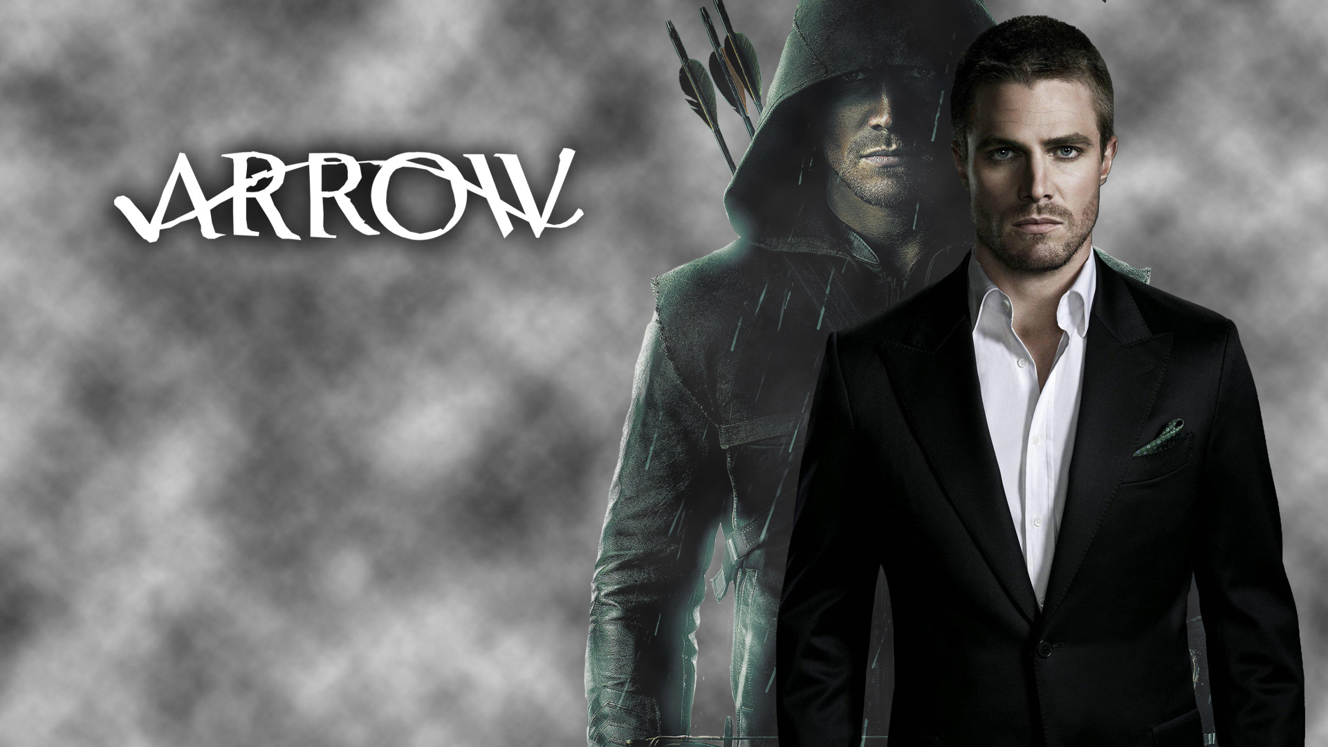 1920x1080 DeviantArt: More Like Oliver Queen/Arrow Wallpaper  by .