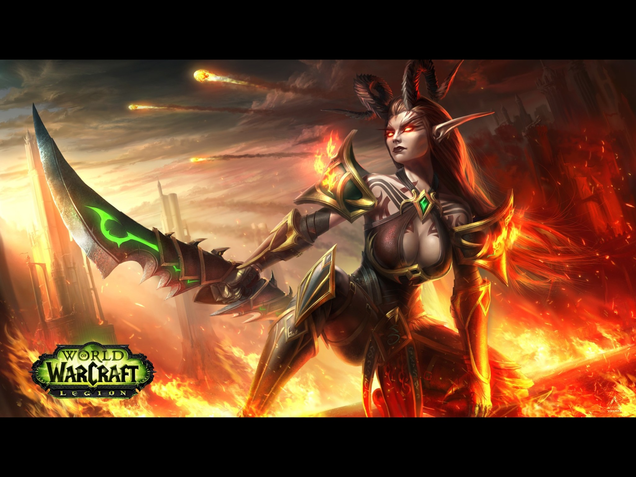 how to make a demon hunter wow