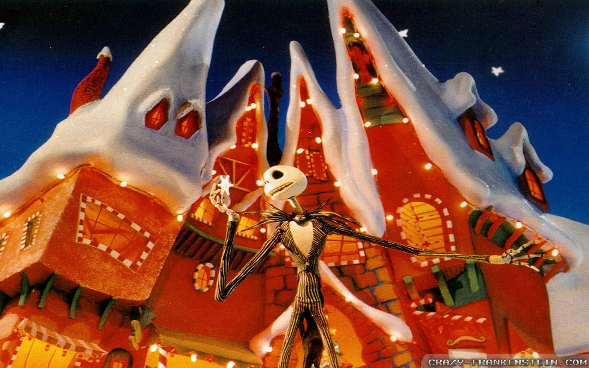 1920x1200 Free 3d Nightmare Before Christmas Backgrounds – Halloween .