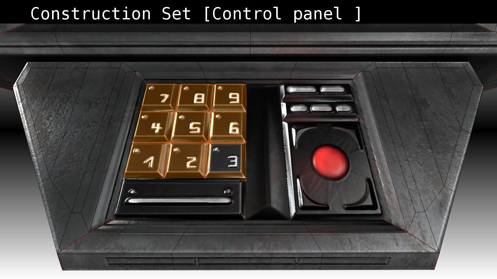 Sci Fi Control Panel : Spaceship control panel wallpaper images