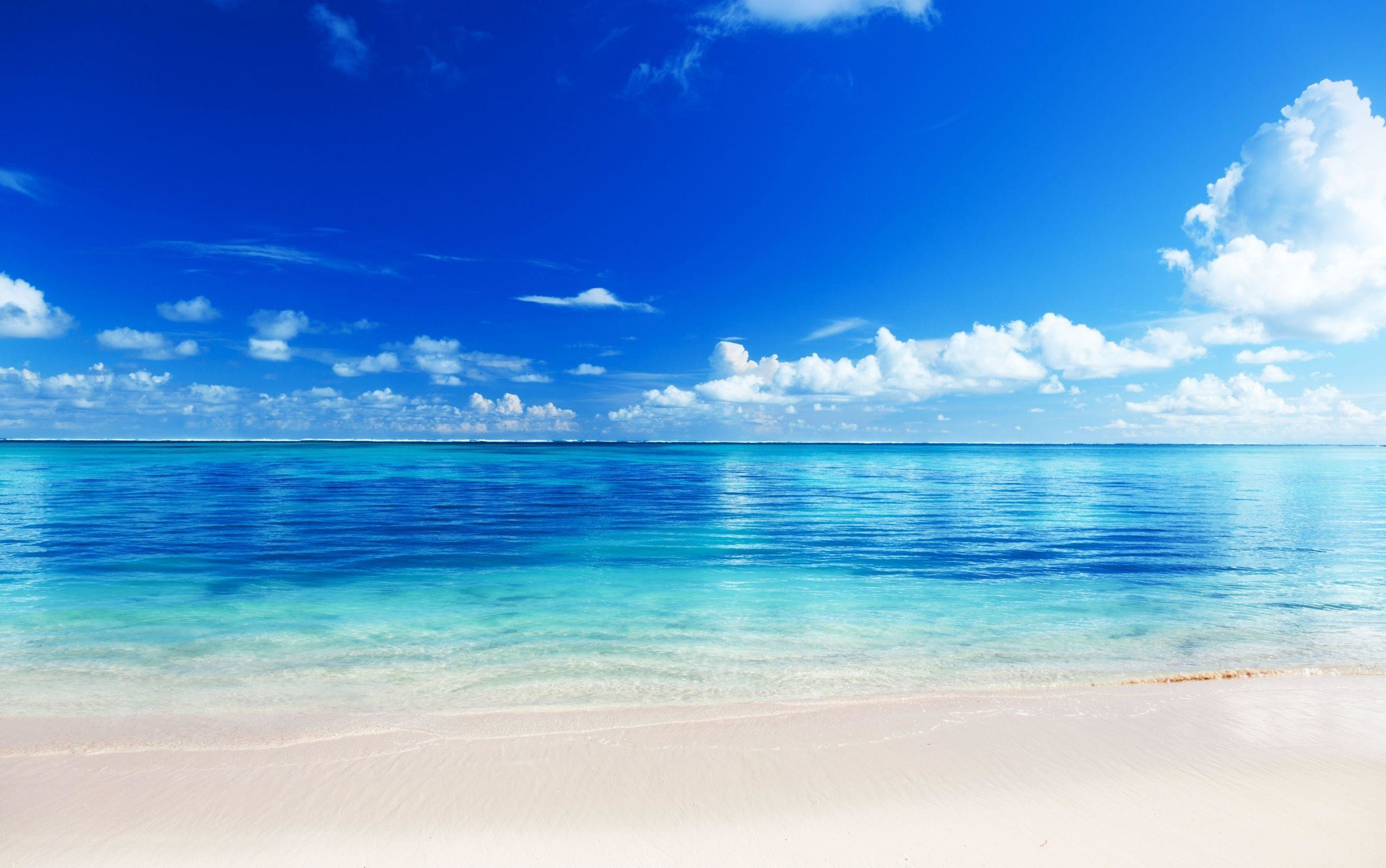 2555x1600 Free Beach Backgrounds Image - Wallpaper Cave