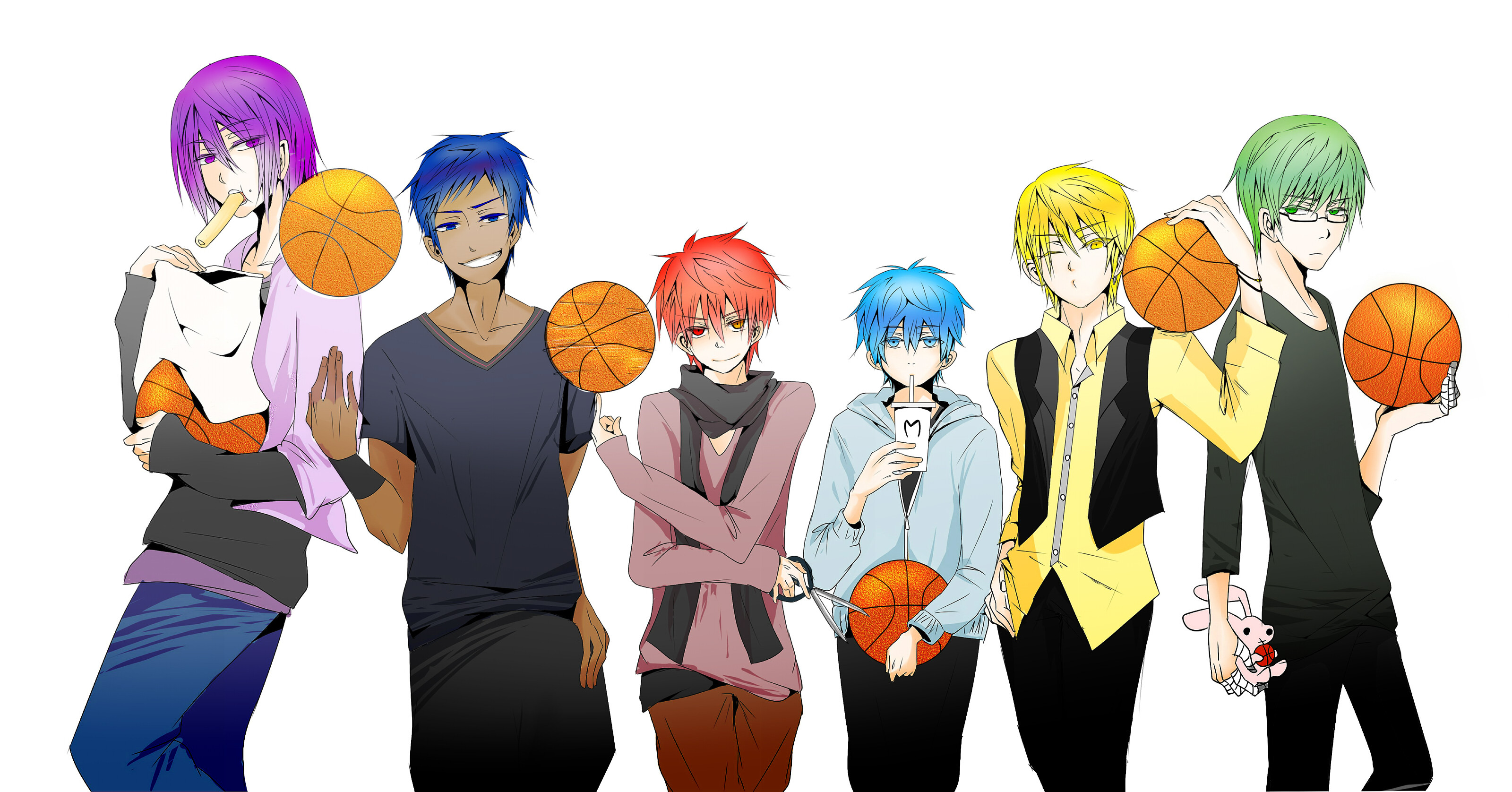 3200x1676 Multi Monitor - Anime Kuroko's Basketball Wallpaper