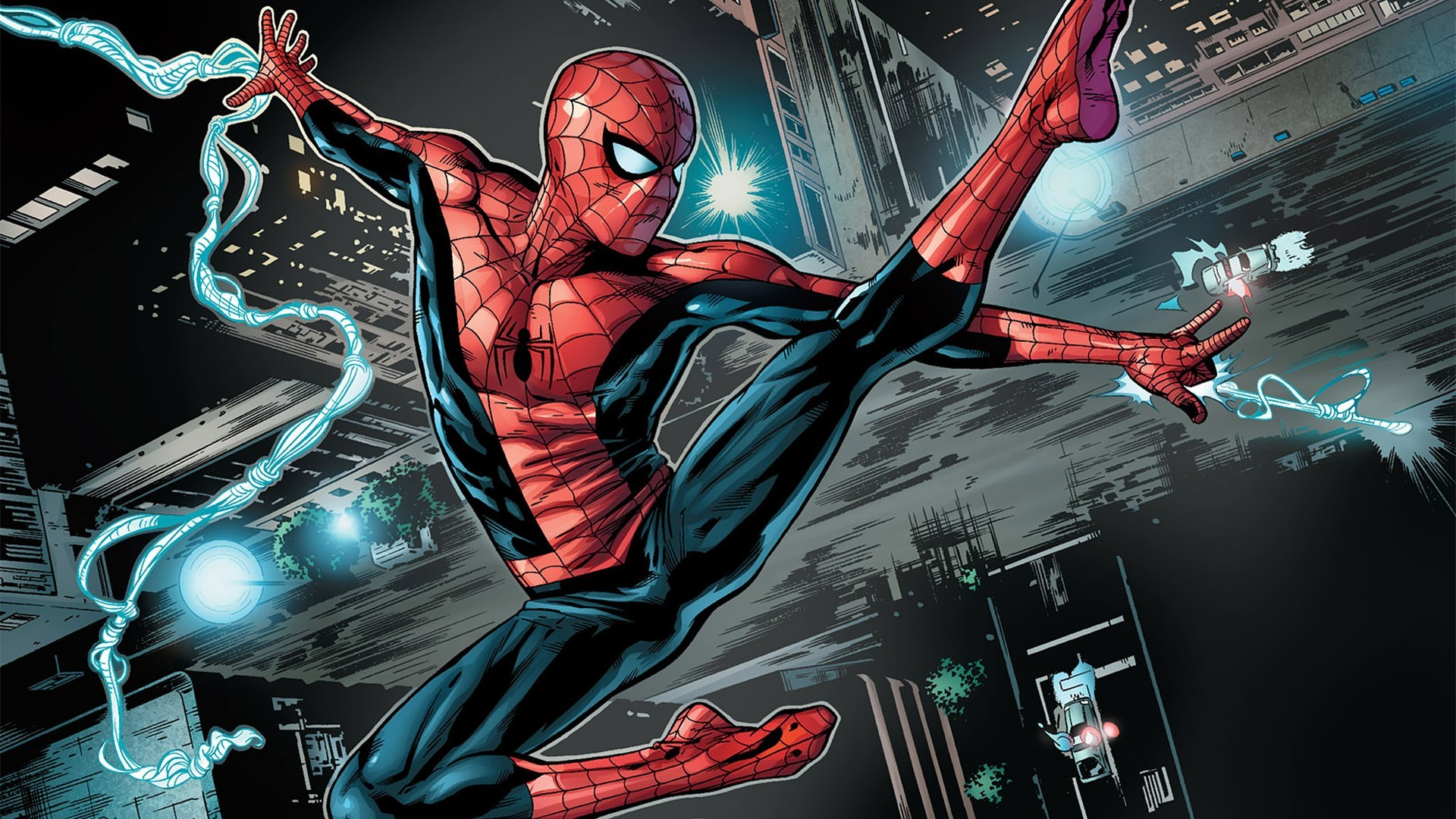 Spiderman Cartoon Wallpaper (75+ images)