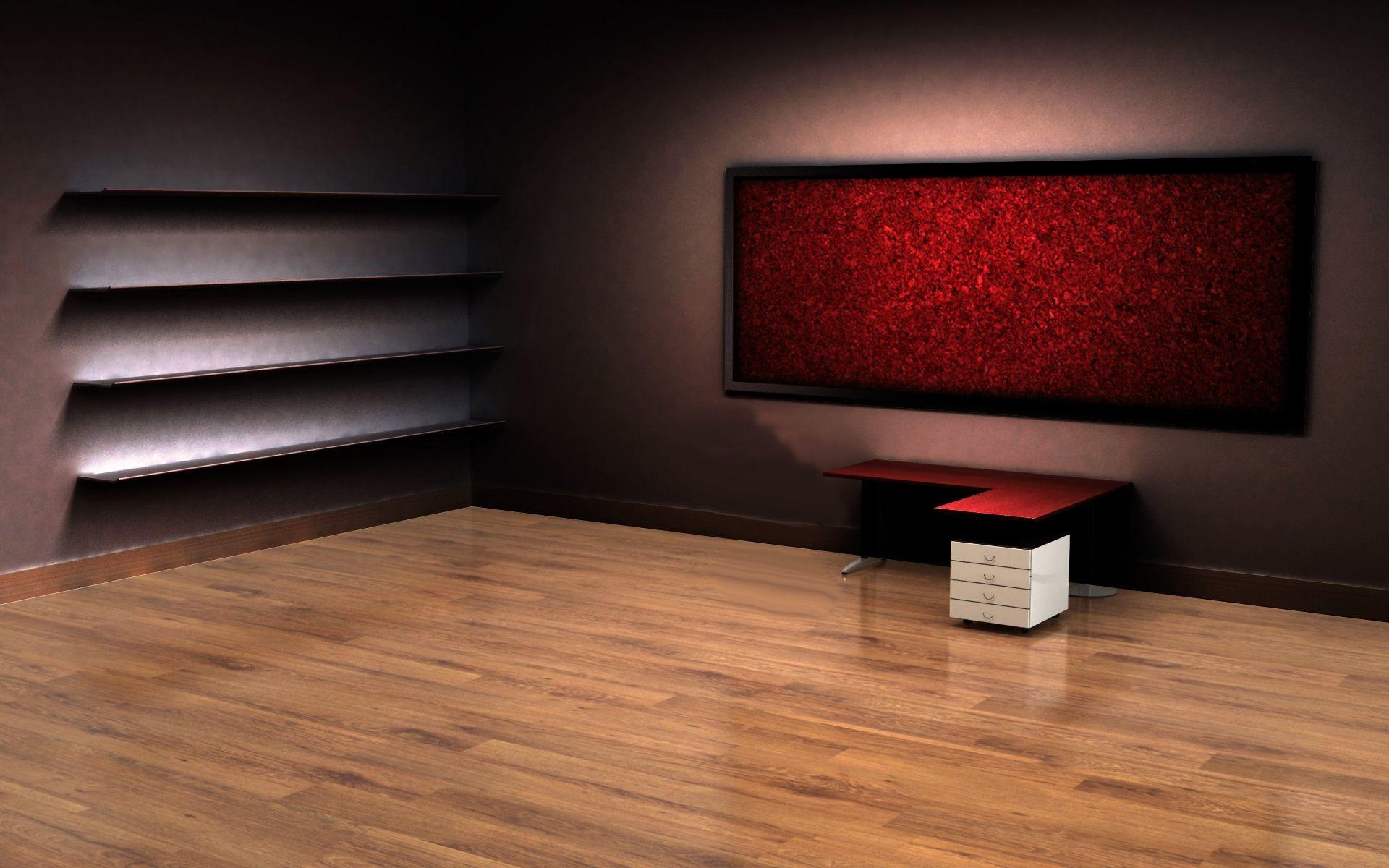 1920x1200 3d Empty Room Desktop Wallpaper