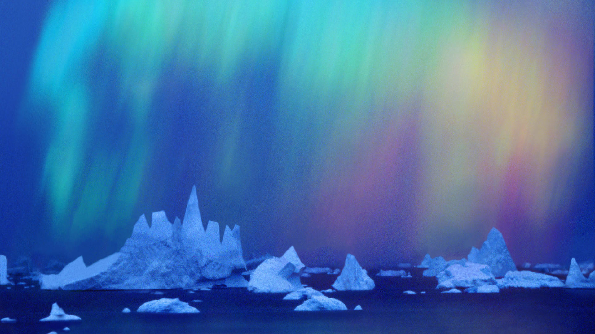 1920x1080 Download Background - Aurora Australis Over the Bellingshausen Sea,  Ellsworth Land Region, Antarctica - Free Cool Backgrounds and Wallpapers  for your ...