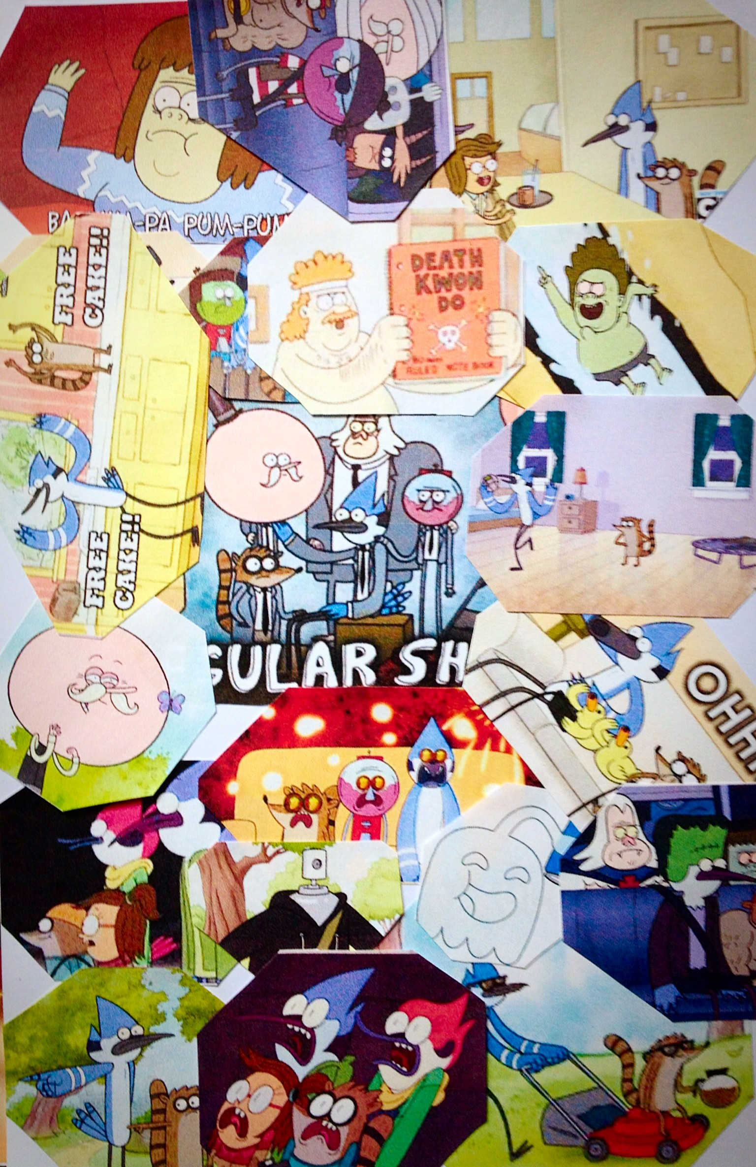 1536x2370 Regular Show Collage by warmteardrops Regular Show Collage by warmteardrops