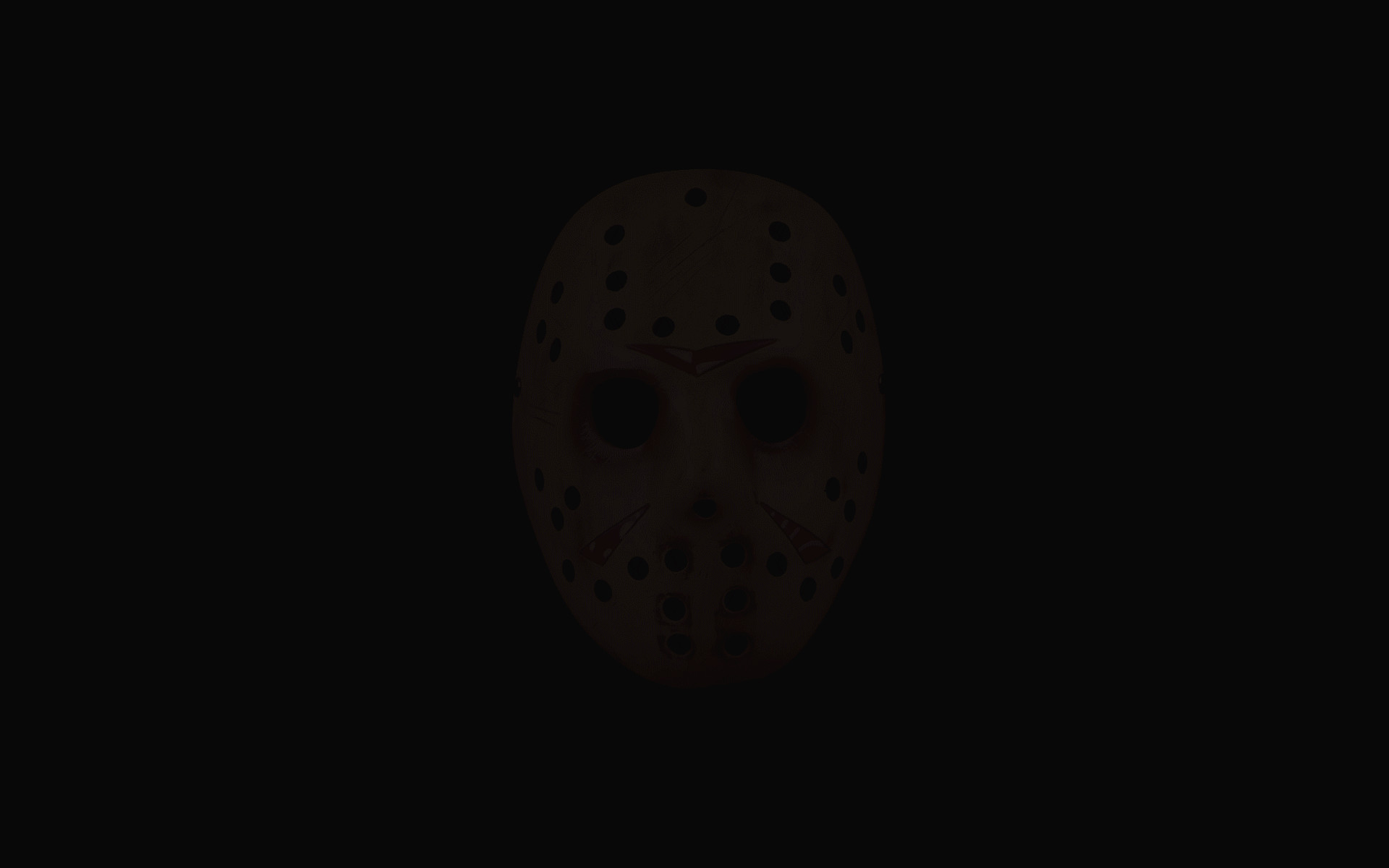 1920x1200 Animated Jason Mask