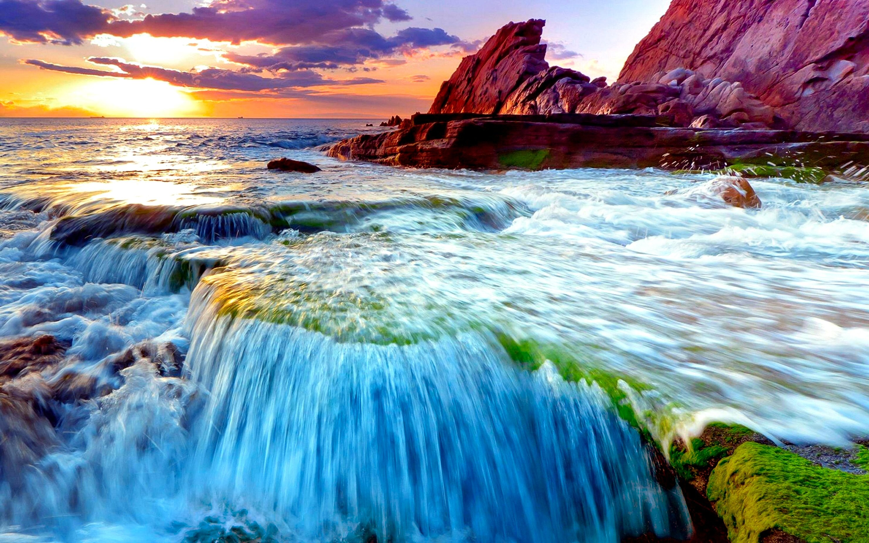 2960x1850 Spectacular HD Waterfall Wallpapers to Download