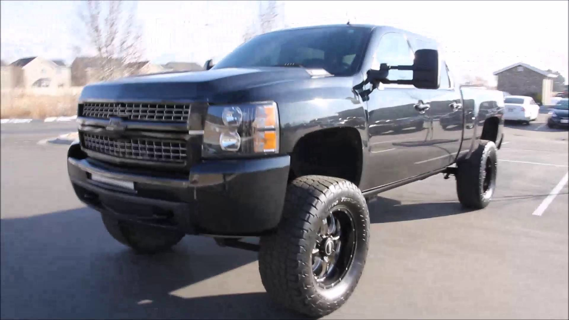 1920x1080 2010 Chevy Silverado 2500HD 4x4 Z71 DURAMAX DIESEL LIFT TIRES 20in WHEELS -  Autos Inc