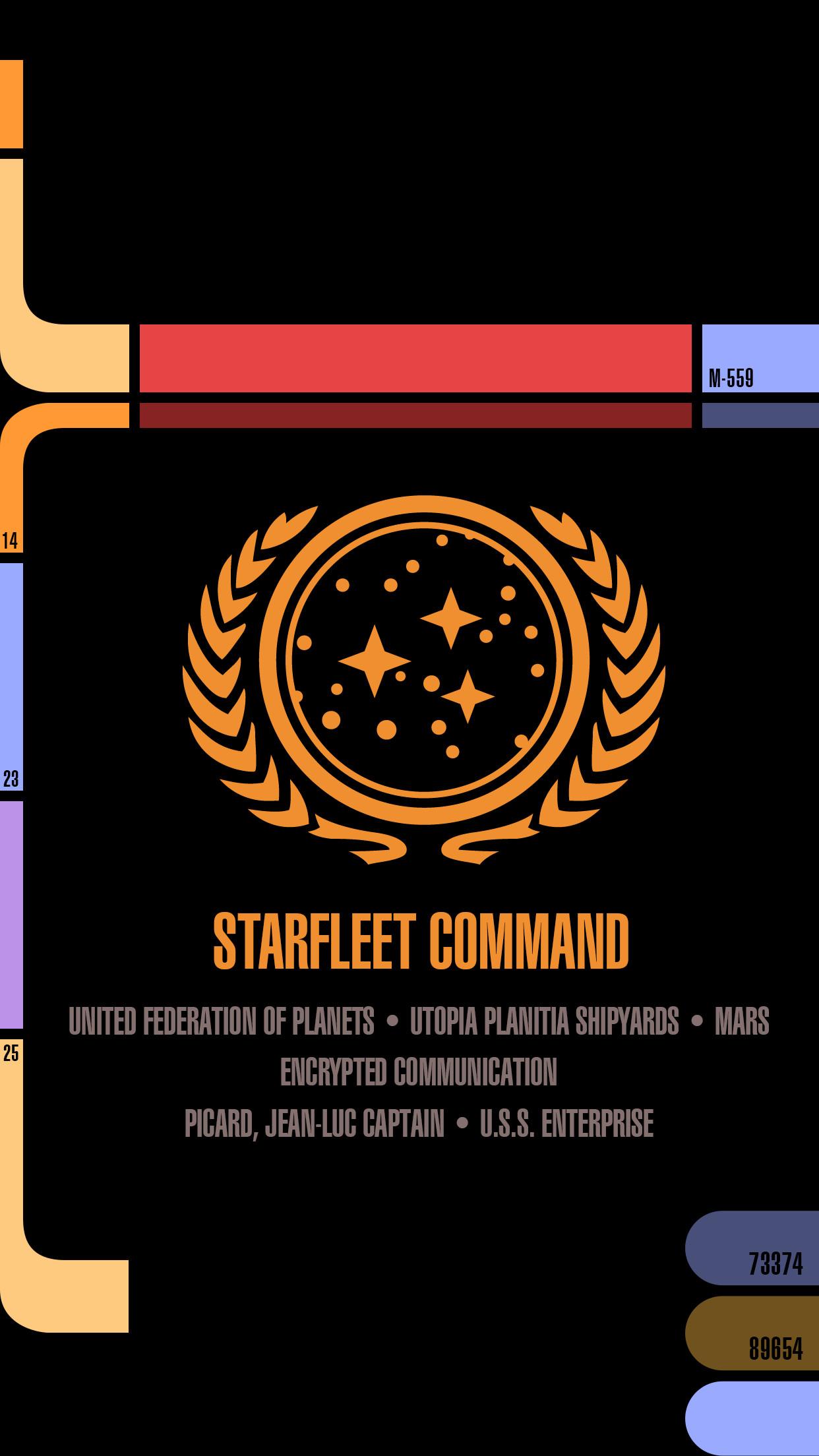 Star Trek Lcars iPhone Wallpaper (59+