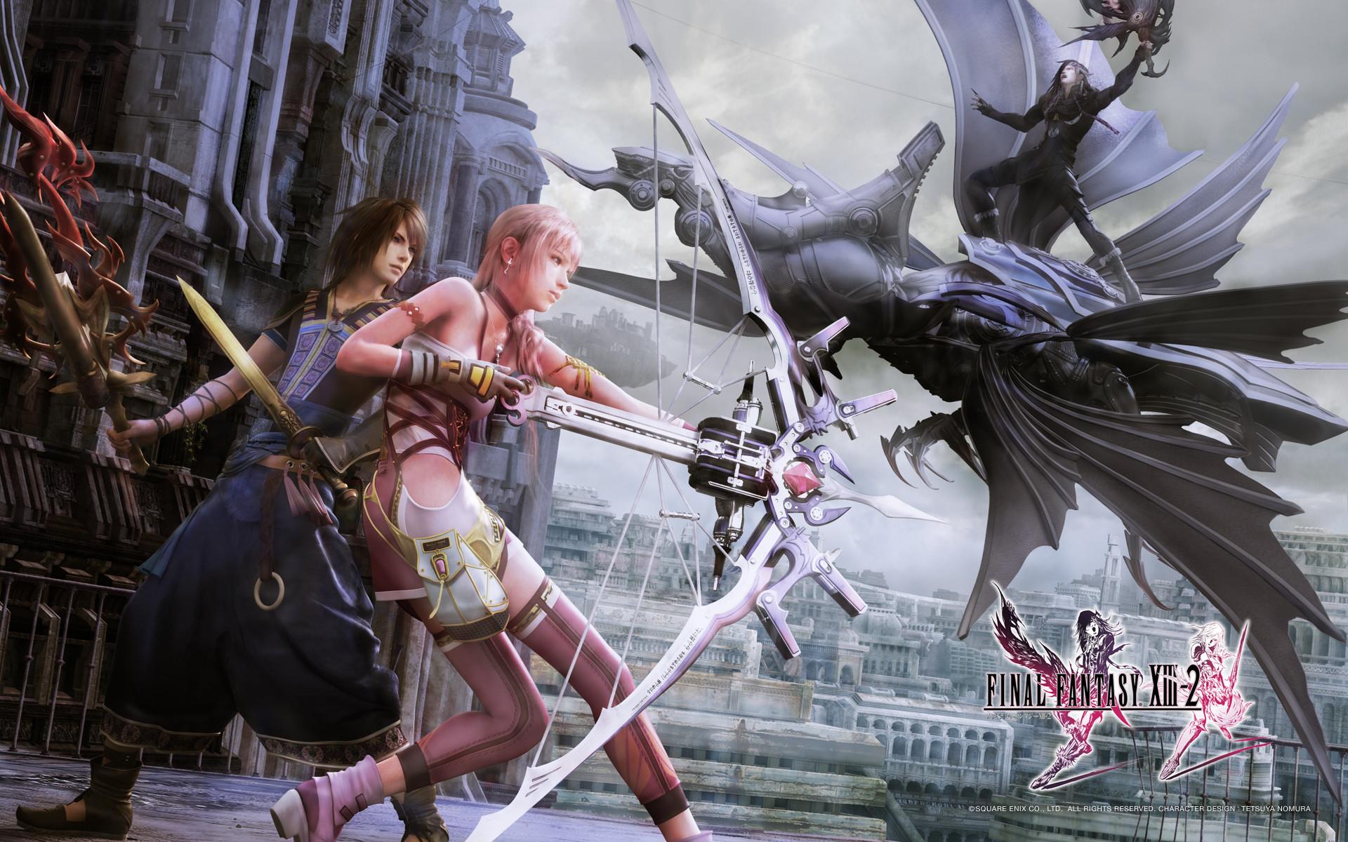 Final Fantasy Xiii 2 Wallpaper 88 Images