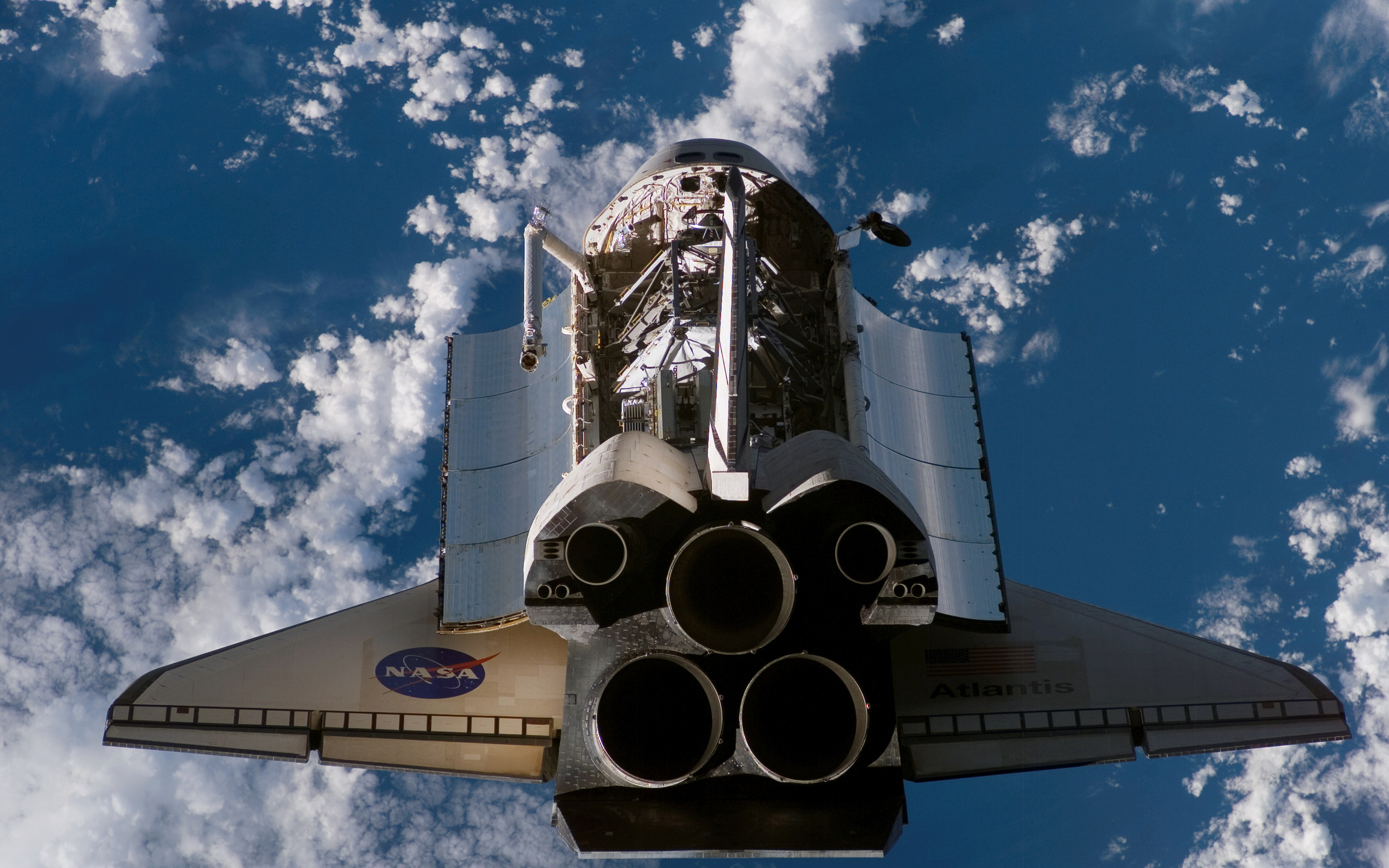 2560x1600 Space Shuttle Wallpapers Free