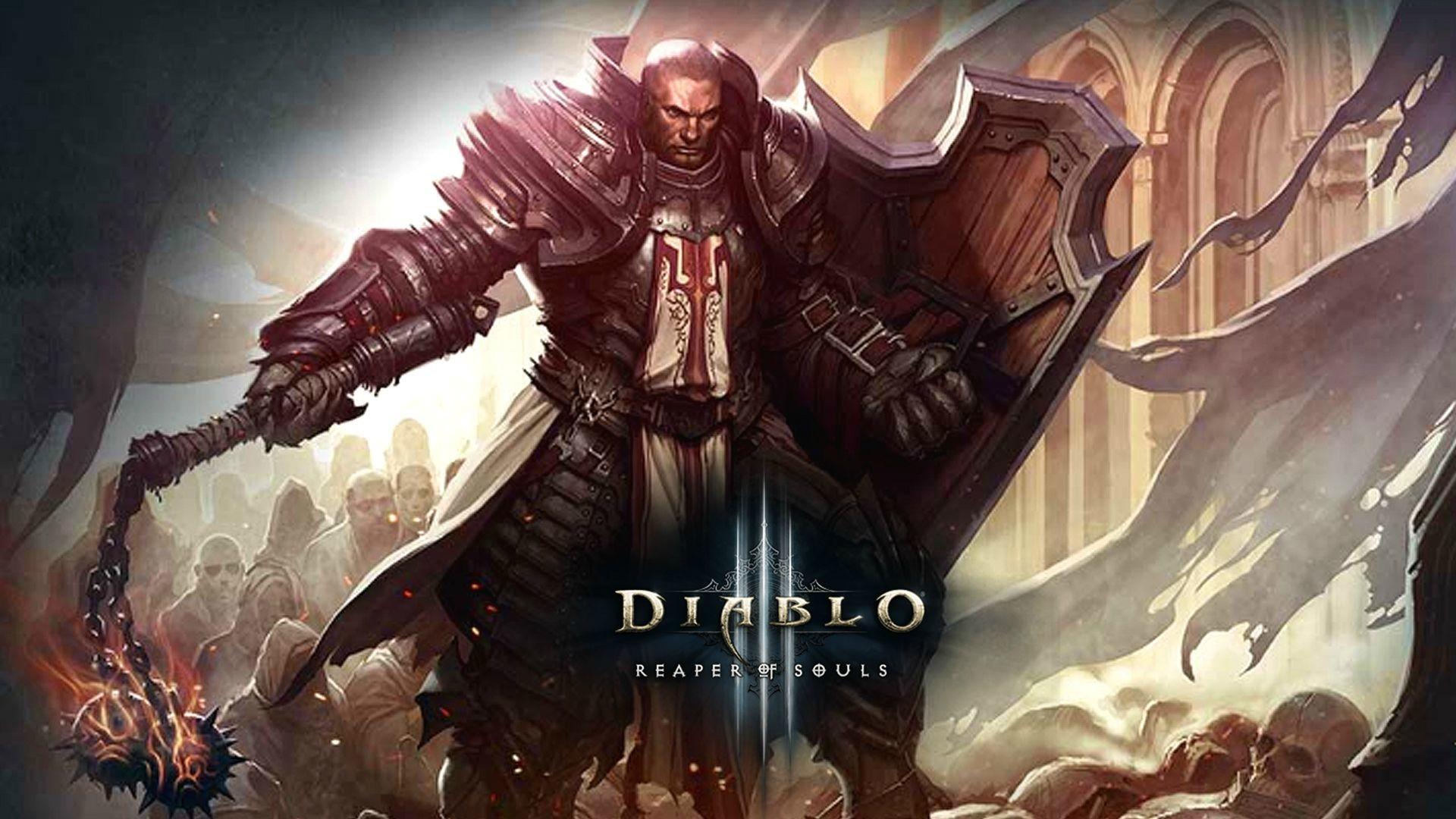 Diablo 3 Wallpaper 1920x1080: Crusader Wallpaper HD (72+ Images