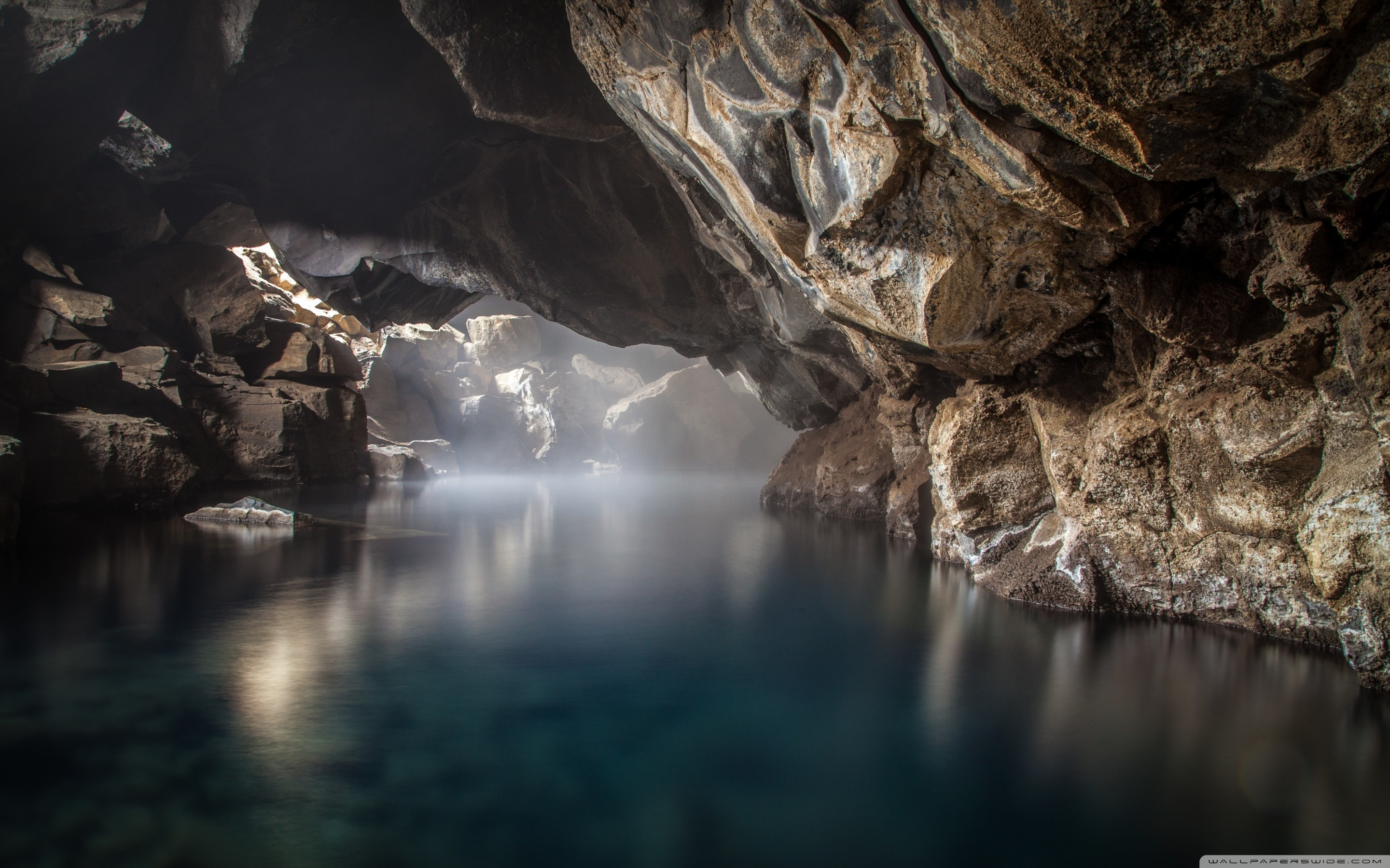 2880x1800 ... grjotagja cave thermal spring iceland hd desktop wallpaper ...