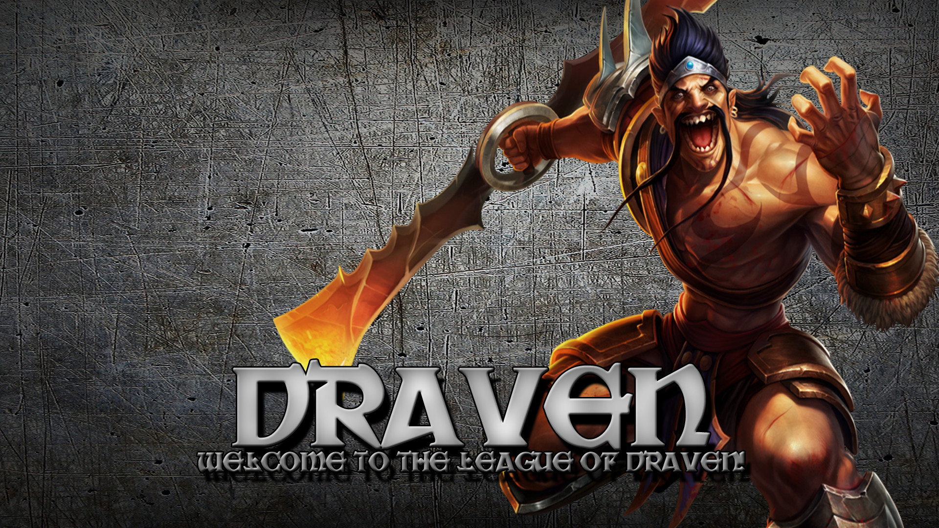 1920x1080 ... Draven (League of Legends) Wallpaper by Drengcap