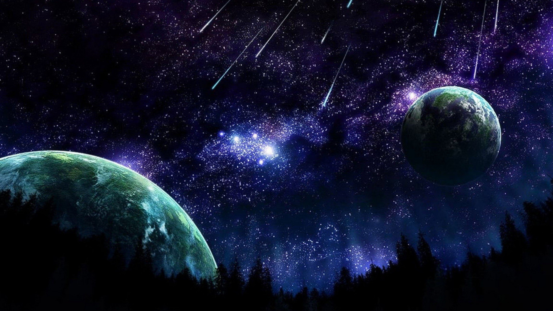 1920x1080 Outer Space Wallpaper Stars Planets