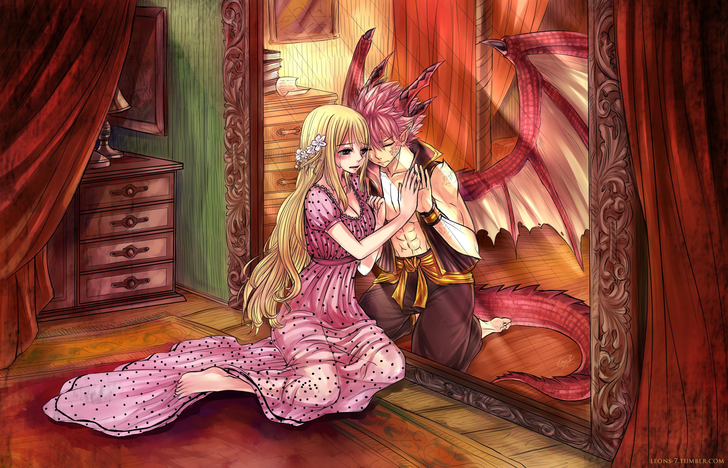 Nalu Wallpapers (68+ images) Chibi Fairy Tail Natsu