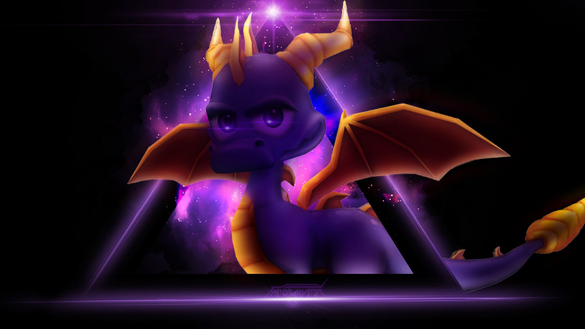 1920x1080 Wallpaper Spyro By OfficialApocalyptic