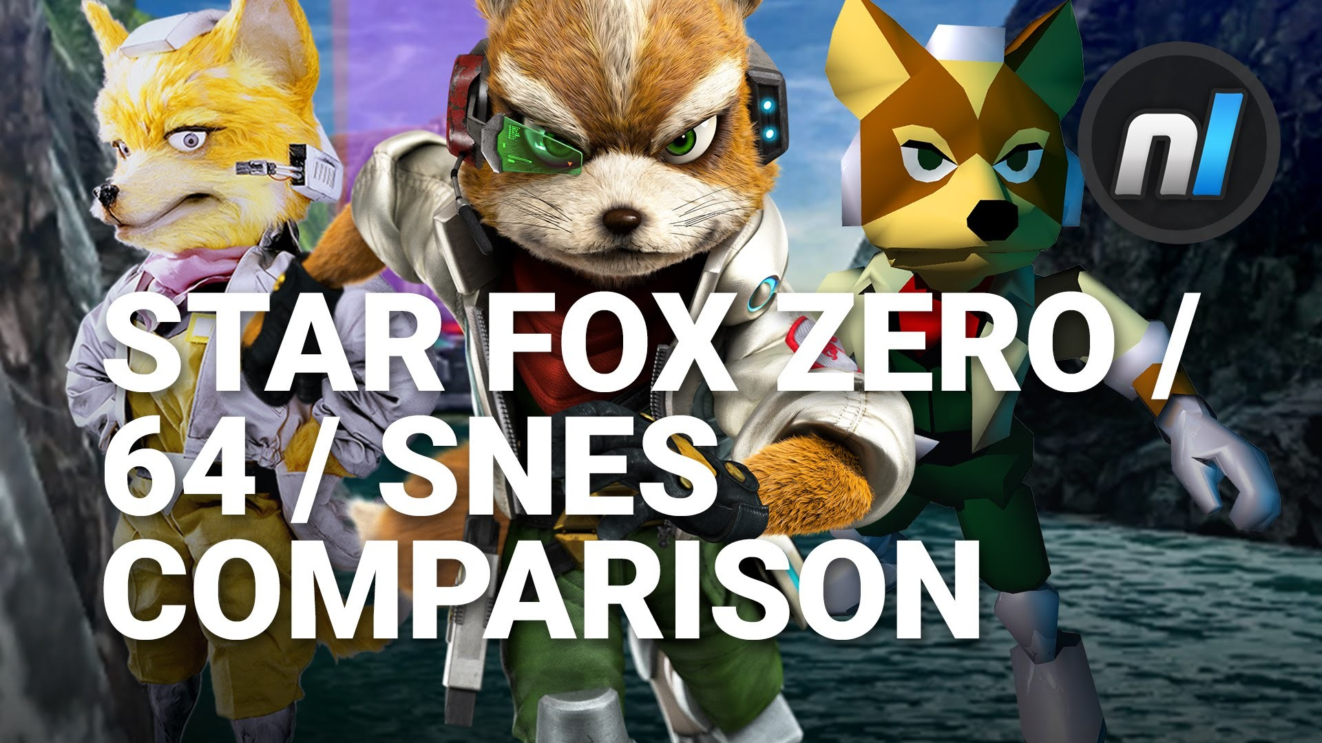 1920x1080 Star Fox Zero / Star Fox 64 / Star Fox SNES Corneria Comparison | Star Fox  Zero - YouTube