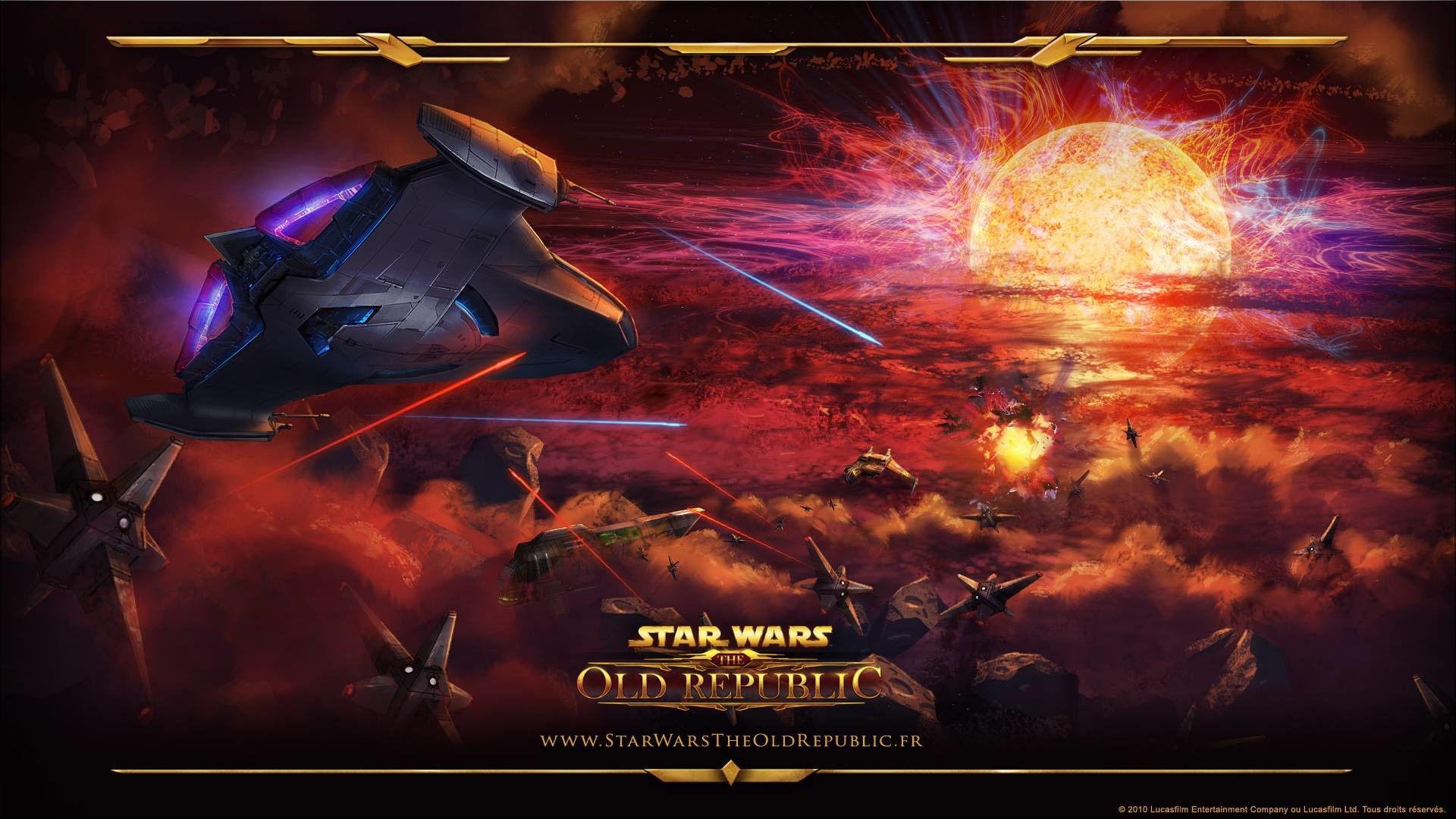 1920x1080 Star Wars Old Republic Cosmic Warship Video Games Desktop .