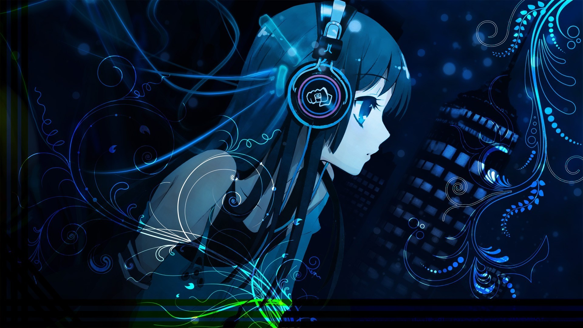 10 Best Anime Music Wallpaper 1920x1080 Full Hd 1920 1080: Anime Gamer Girl Wallpapers (68+ Images