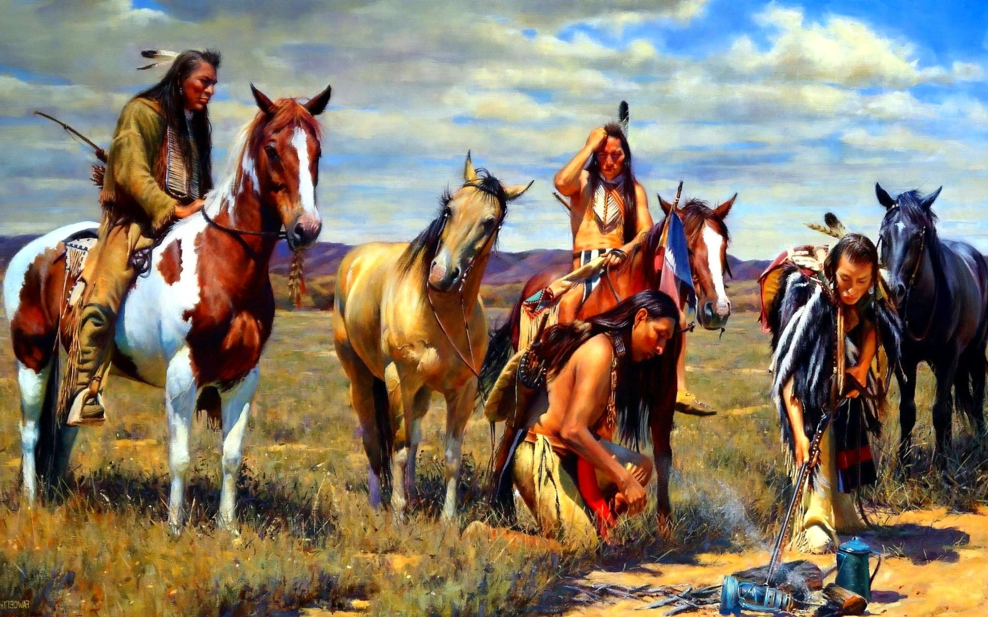 american west tribes Native american tribes the united states government officially recognizes 562 tribes in the united states, the indian tribe is a fundamental unit, and the constitution grants congress the right to interact with tribes.