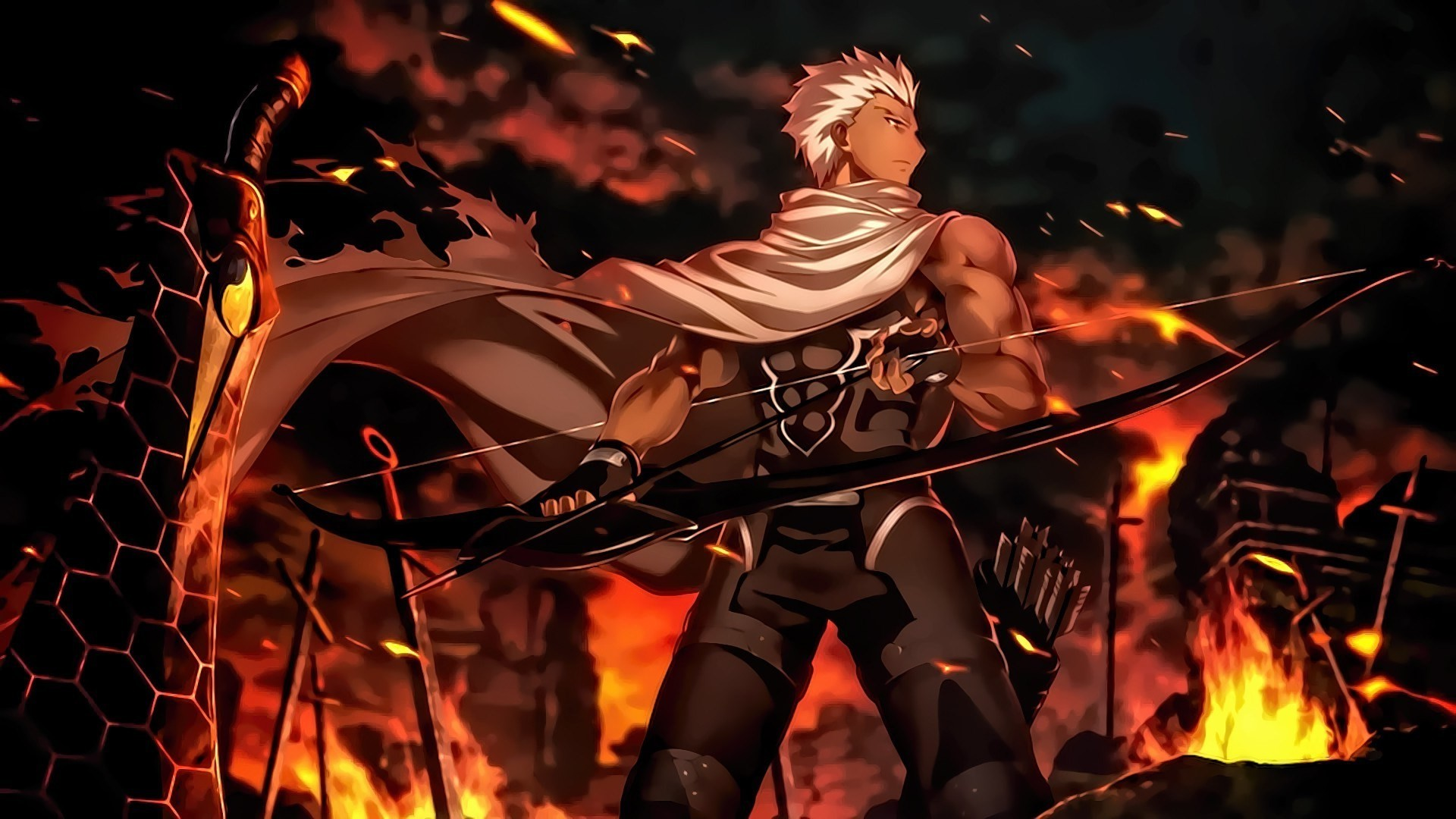 1920x1080 archer unlimited blade works wallpaper ...