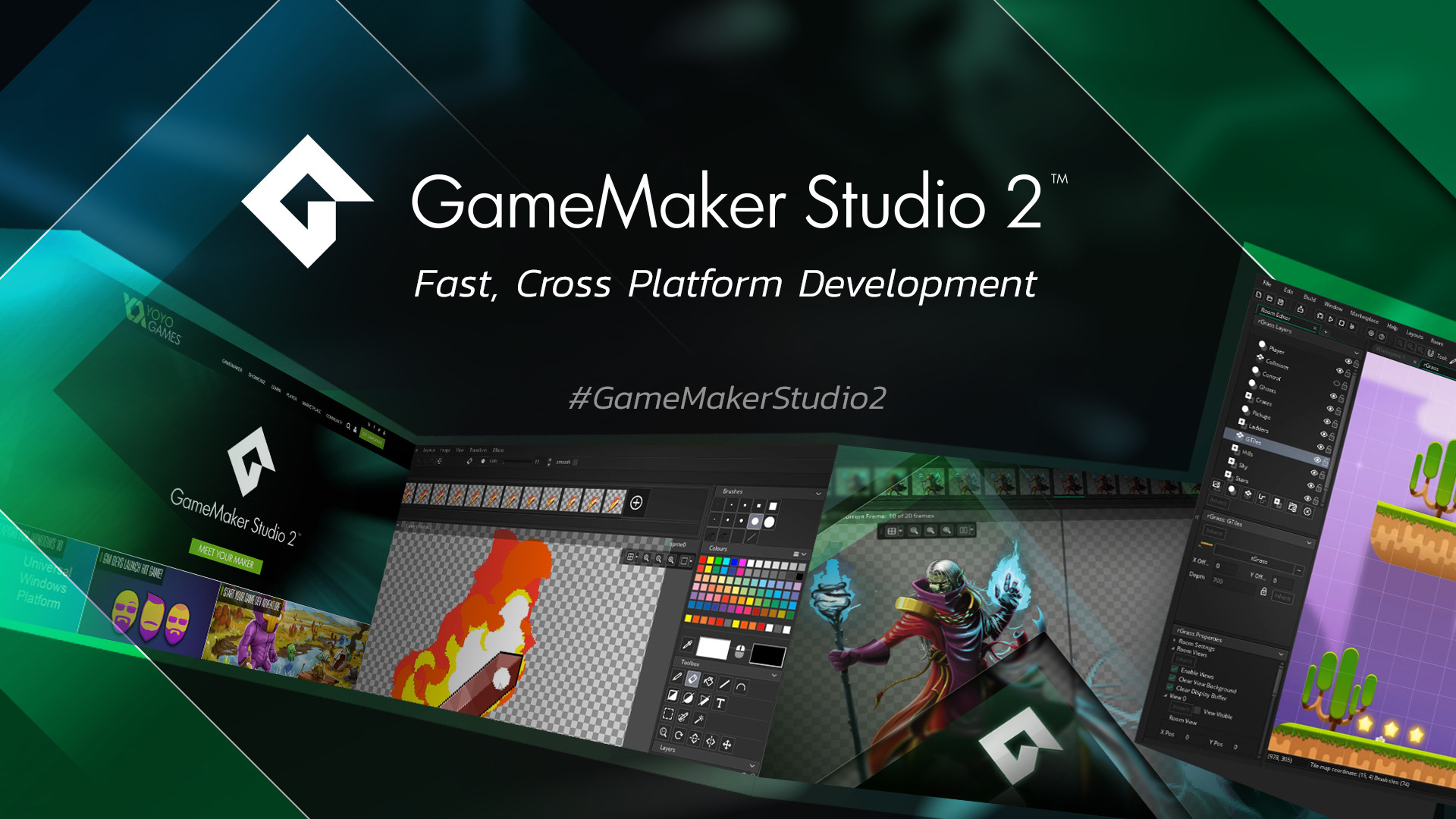 1920x1080 GameMaker Studio 2.0.7 and Console Exports - Out Now!