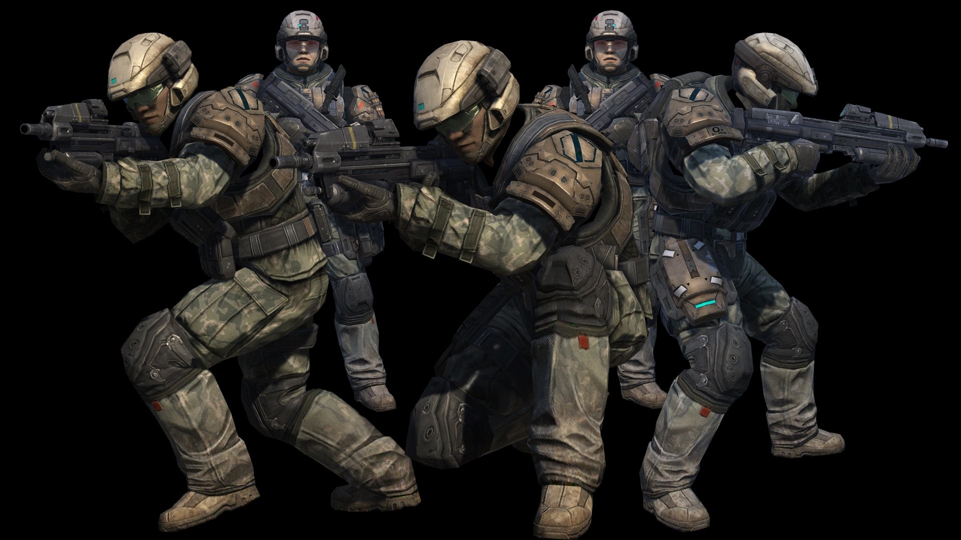 1920x1080 Halo Reach Marines