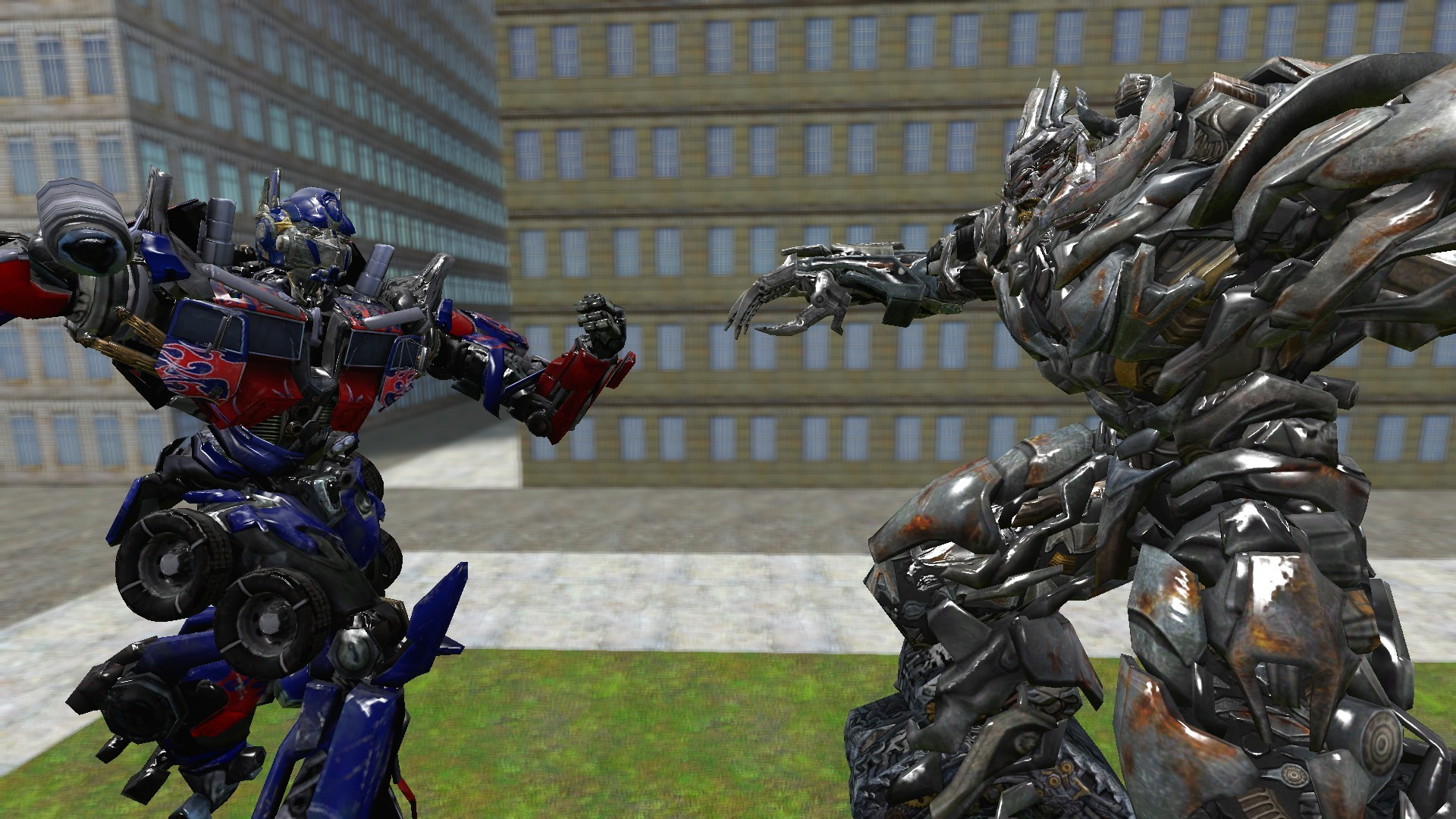 1920x1080 Optimus Prime vs Megatron : The Final Stand by .