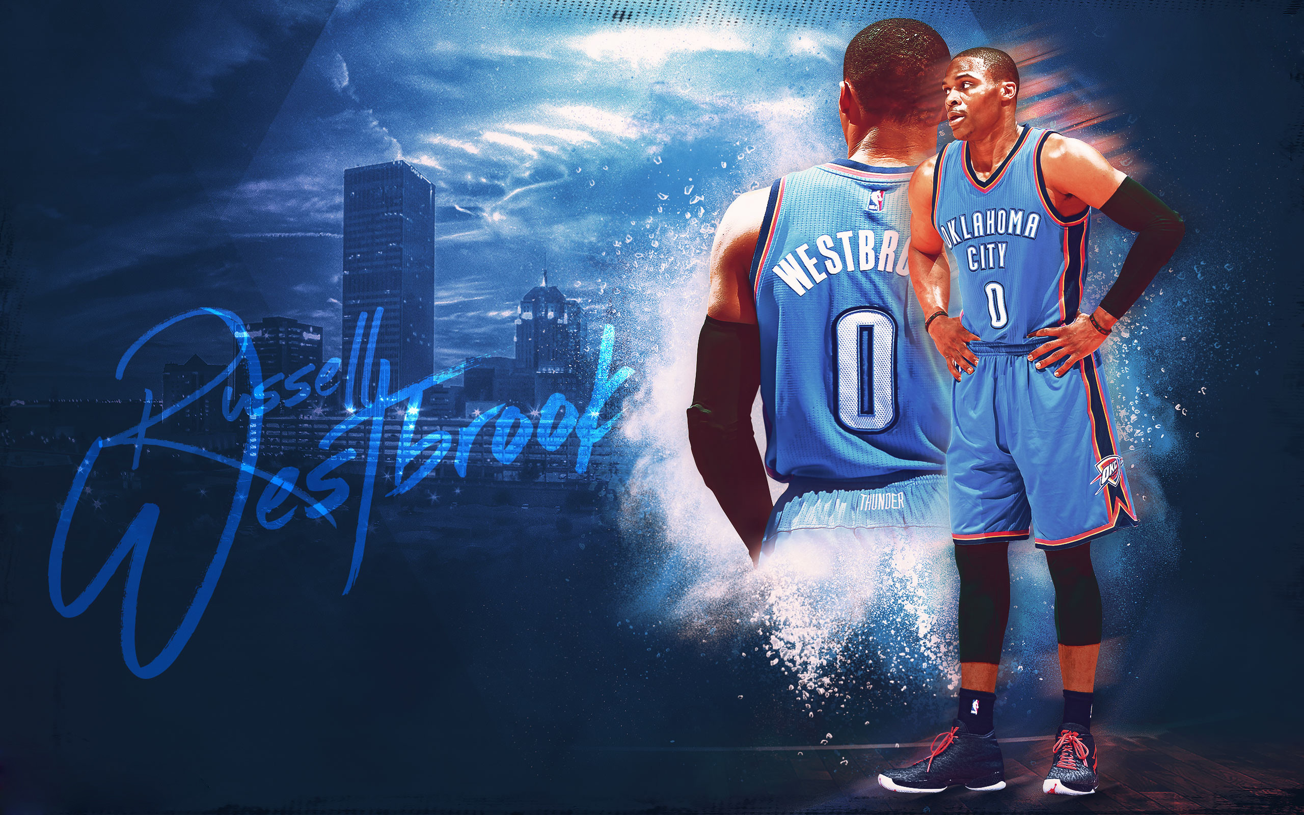 2560x1600 wallpaper.wiki-Best-Russell-Westbrook-Wallpaper-HD-1-
