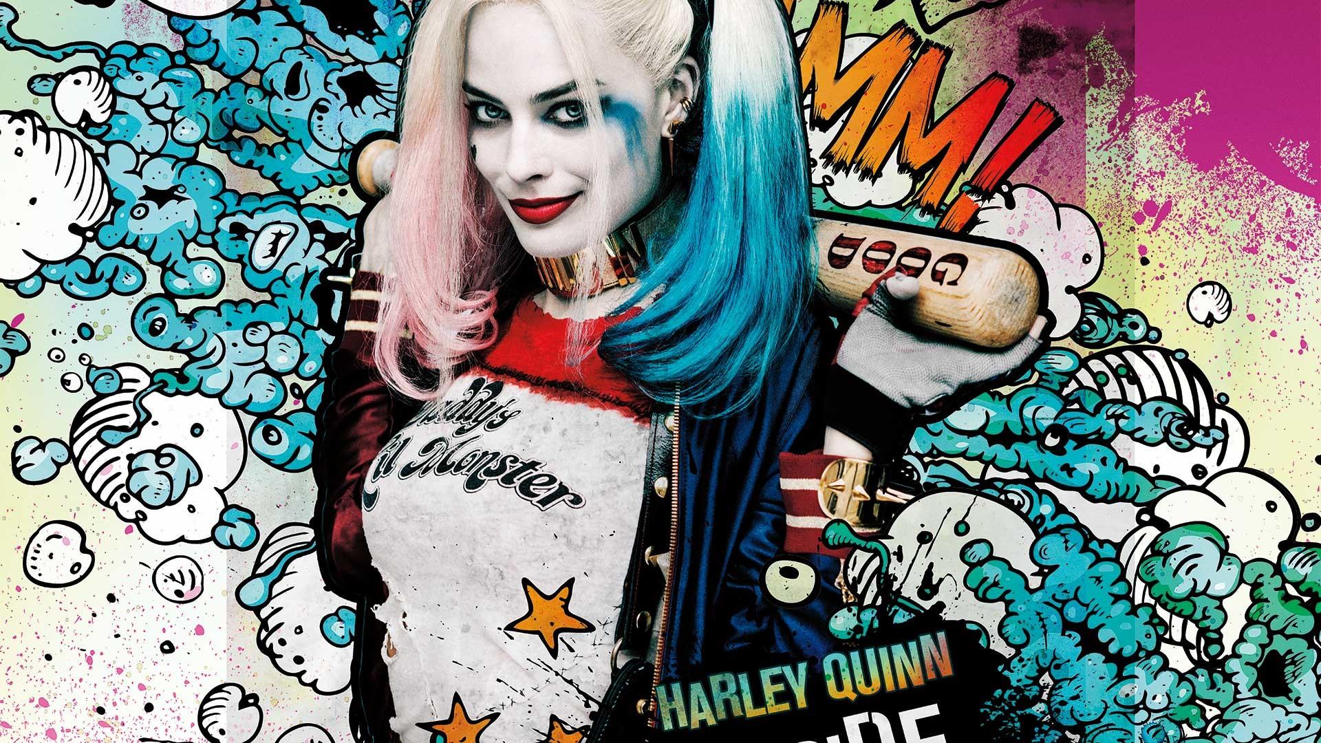 Fantastic Wallpaper Logo Harley Quinn - 582109  You Should Have_775551.jpg