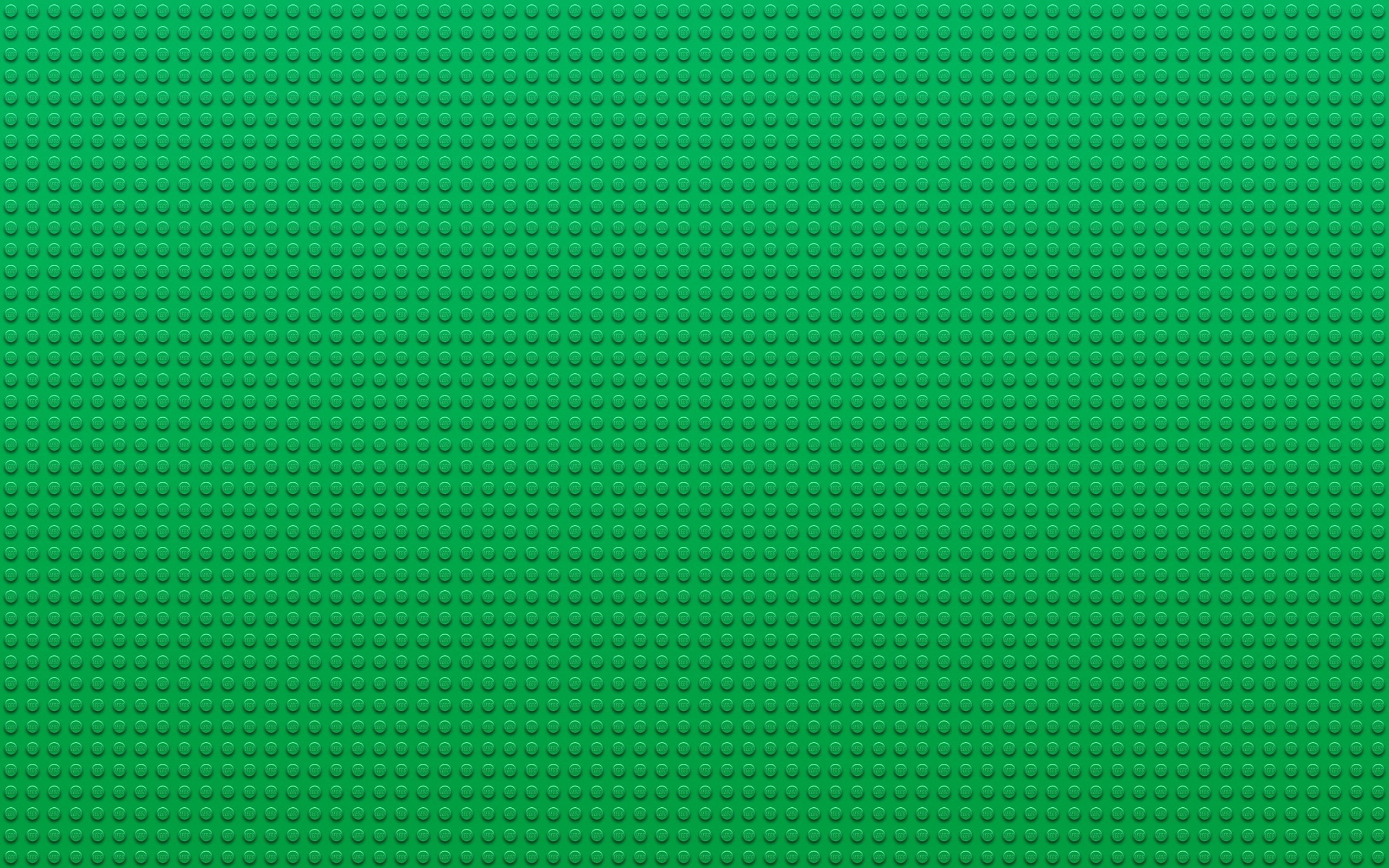 2560x1600 Green Lego Wallpaper  Green, Lego, Textures, Dots