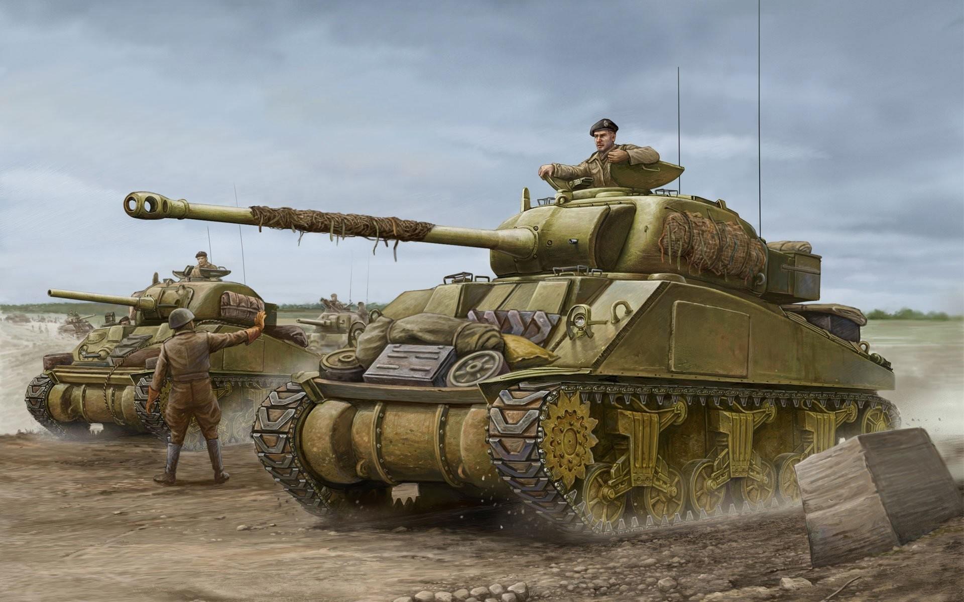 WW2 Tank Wallpaper (68...M Day Army