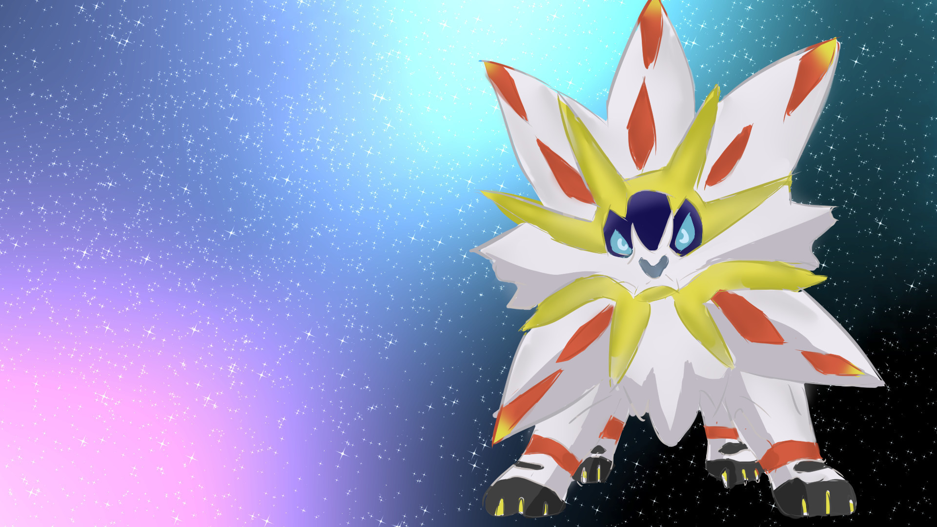 1920x1080 Pokemon Sun legendary by TombieFox Pokemon Sun legendary by TombieFox