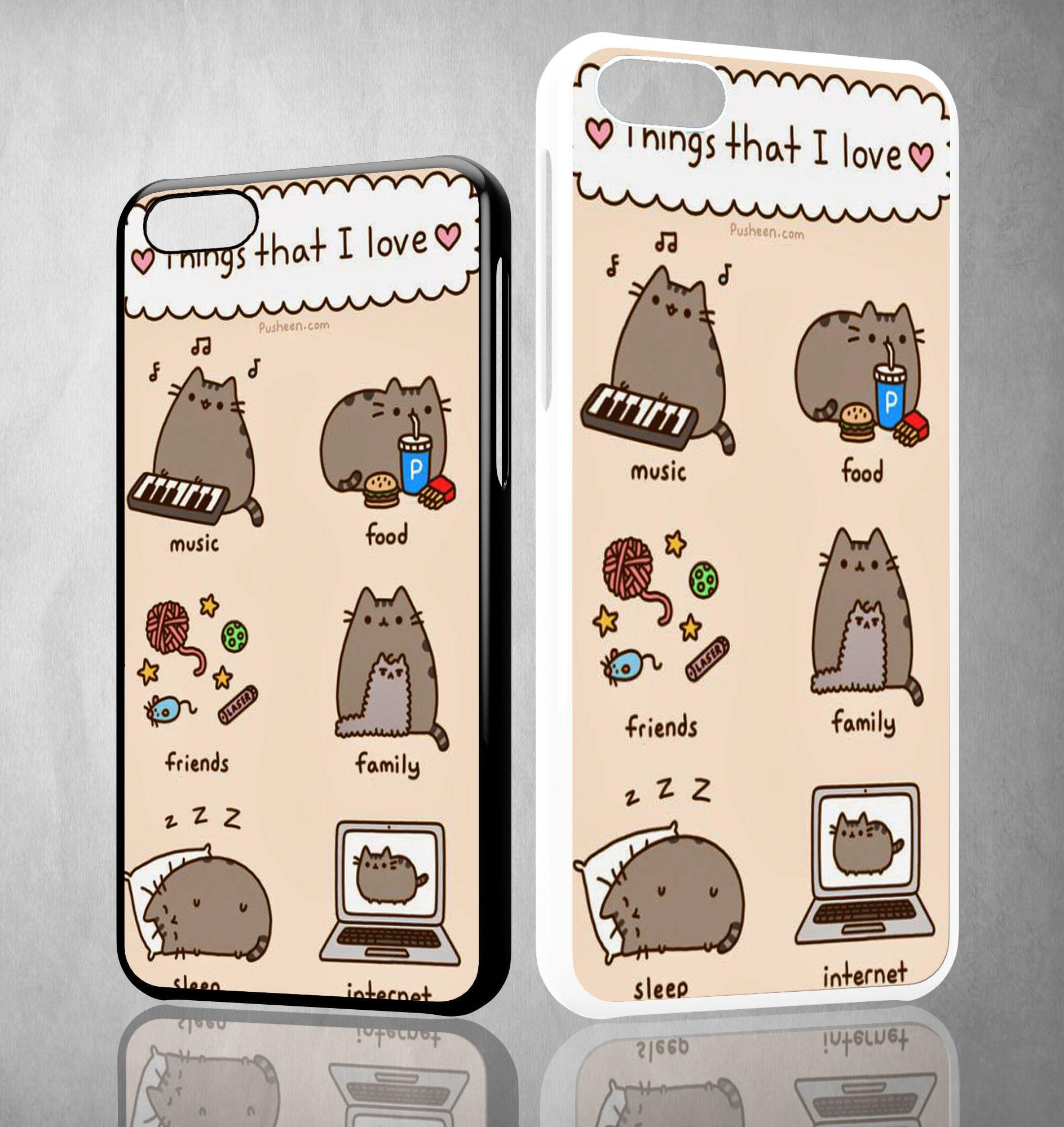 1887x2000 Pusheen Cat Wallpaper Y0755 IPhone 4S 5S From Velozcity.com