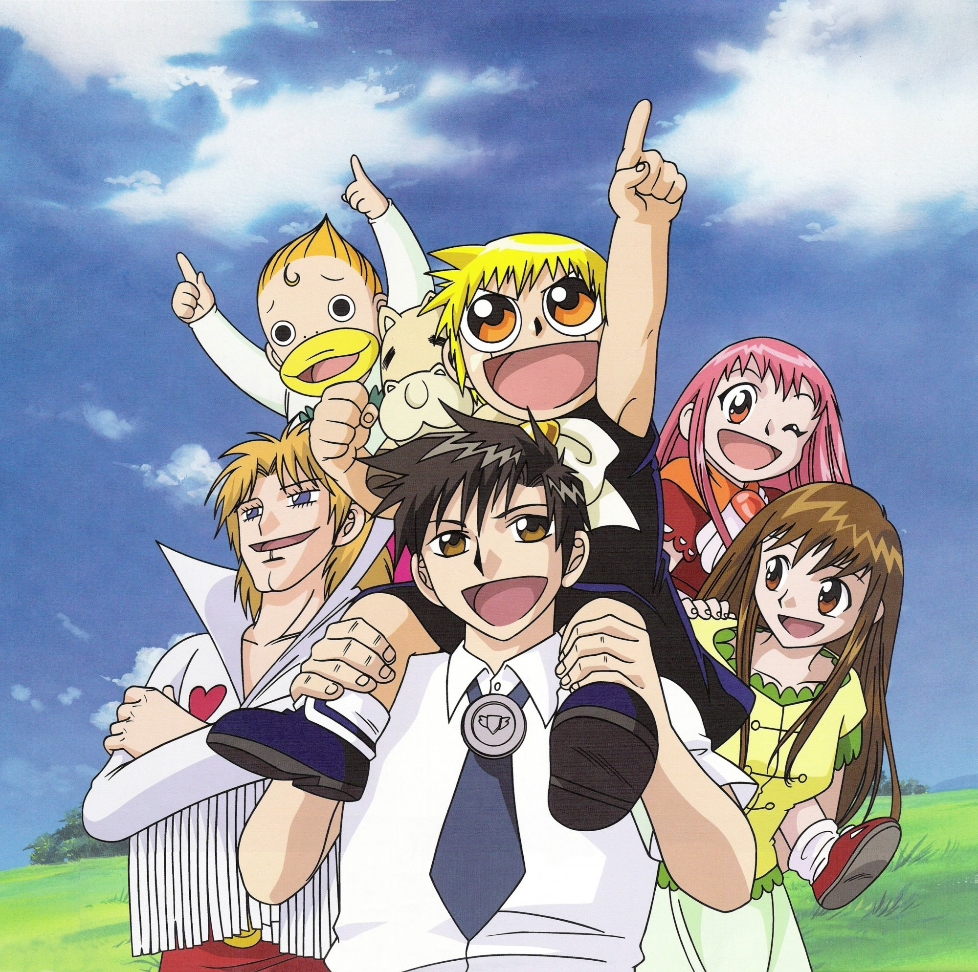 2000x1989 Great Zatch Bell Characters Wallpaper These are High Quality and High  Definition HD Wallpapers For PC