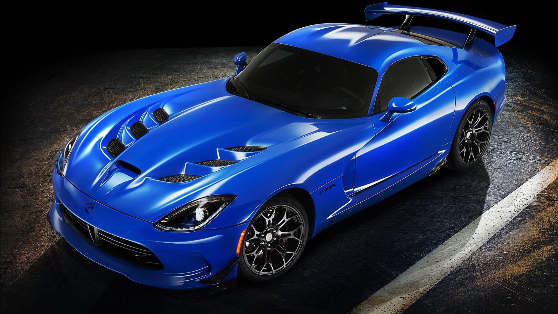 Exceptionnel 1920x1080 Dodge Viper SRT 10 Fantasy Fire Snake Car