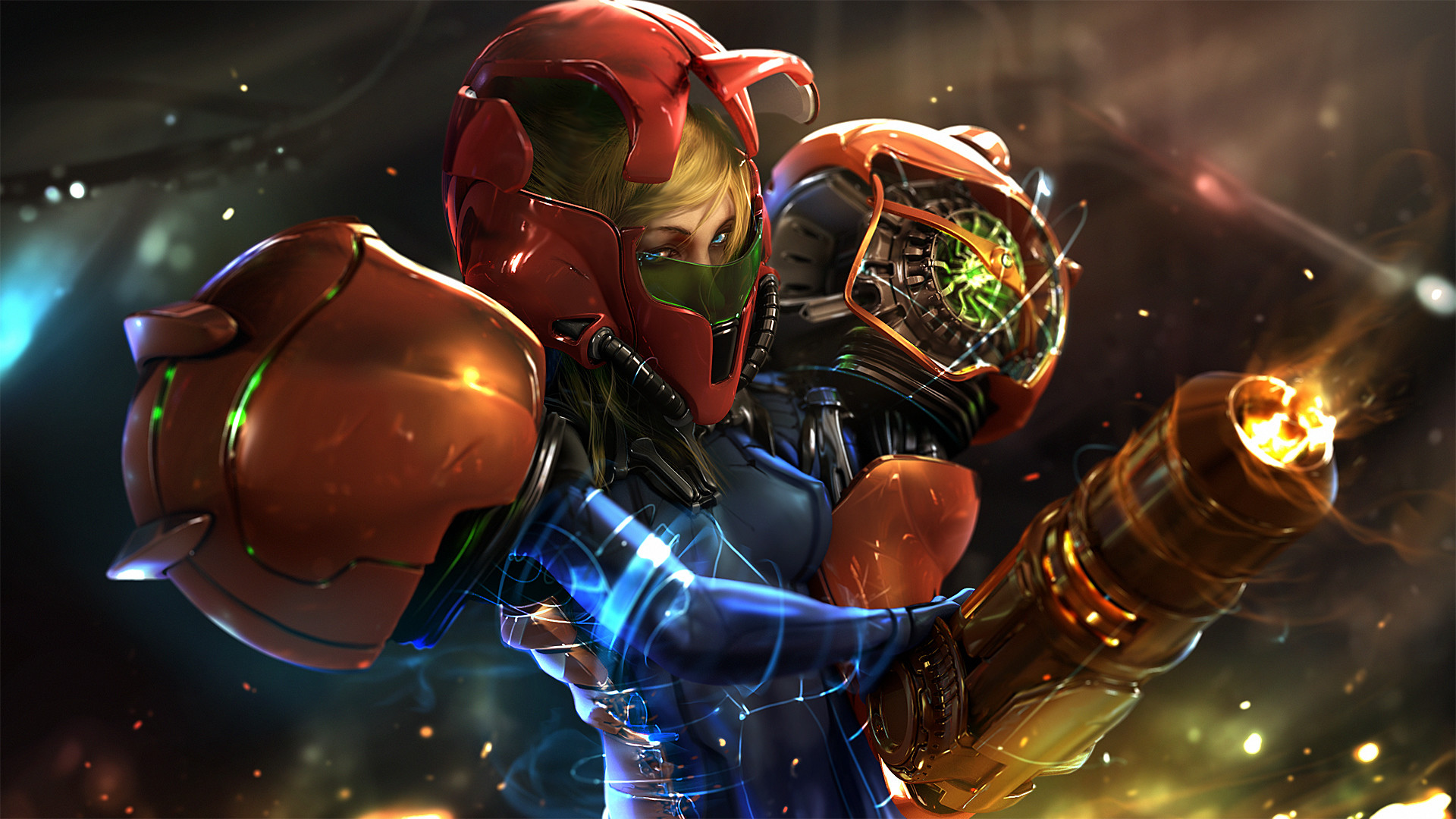 1920x1080 Awesome Metroid Wallpaper For The 21st Anniversary Of Super