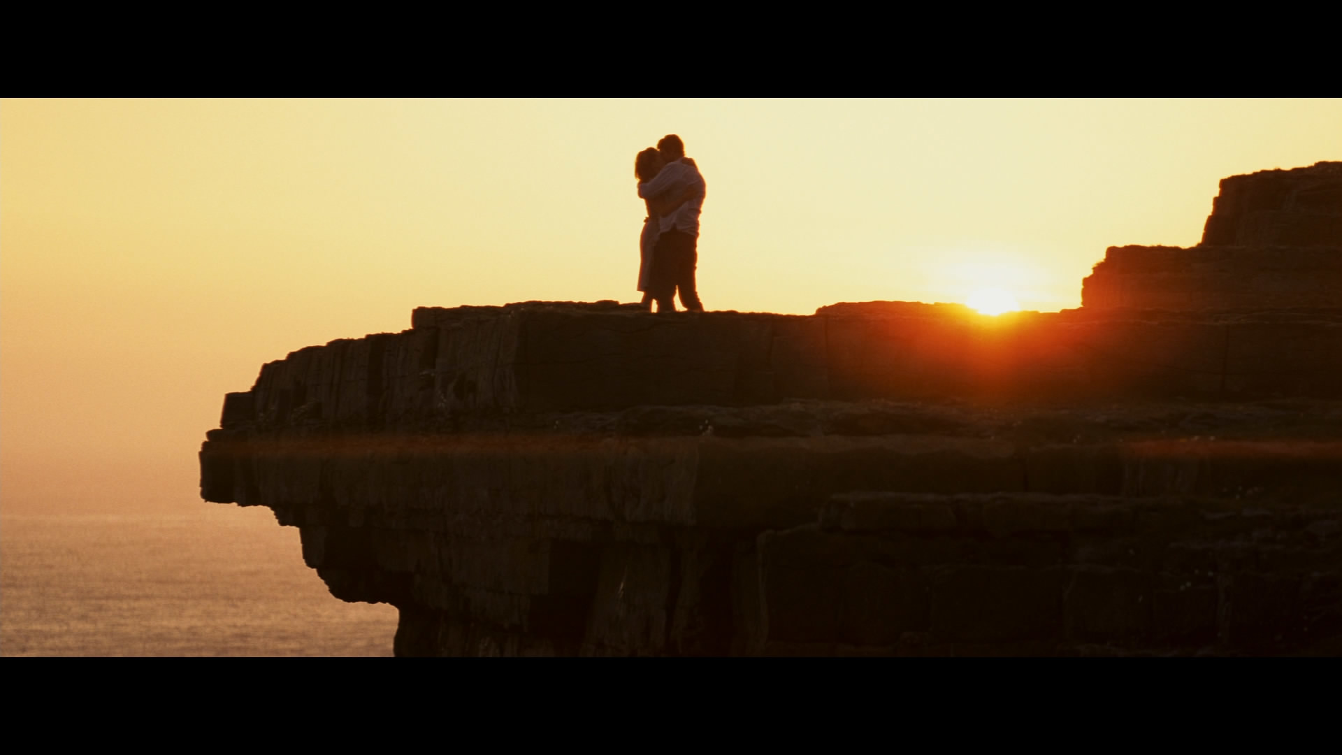 1920x1080 Final scene in the movie leap year at Dun Aengus Fort