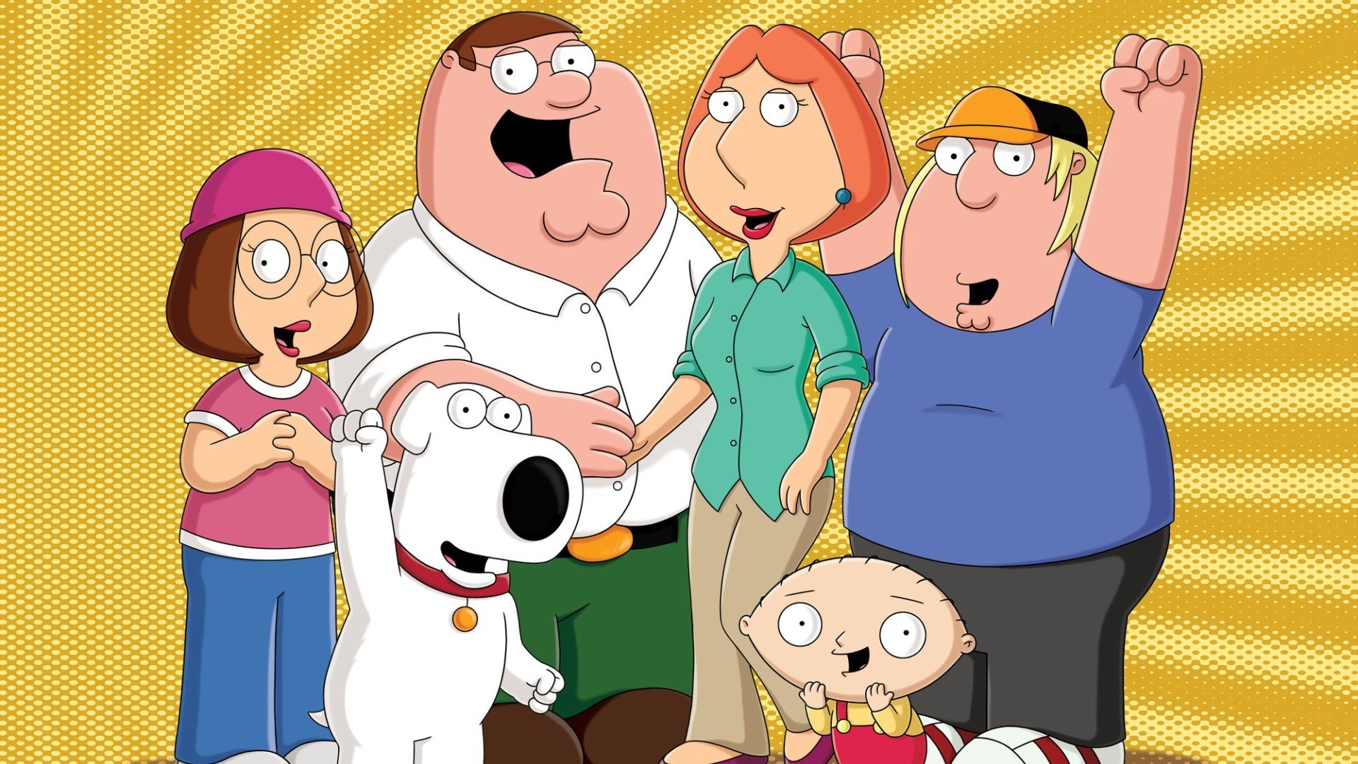 1920x1080 free screensaver wallpapers for family guy