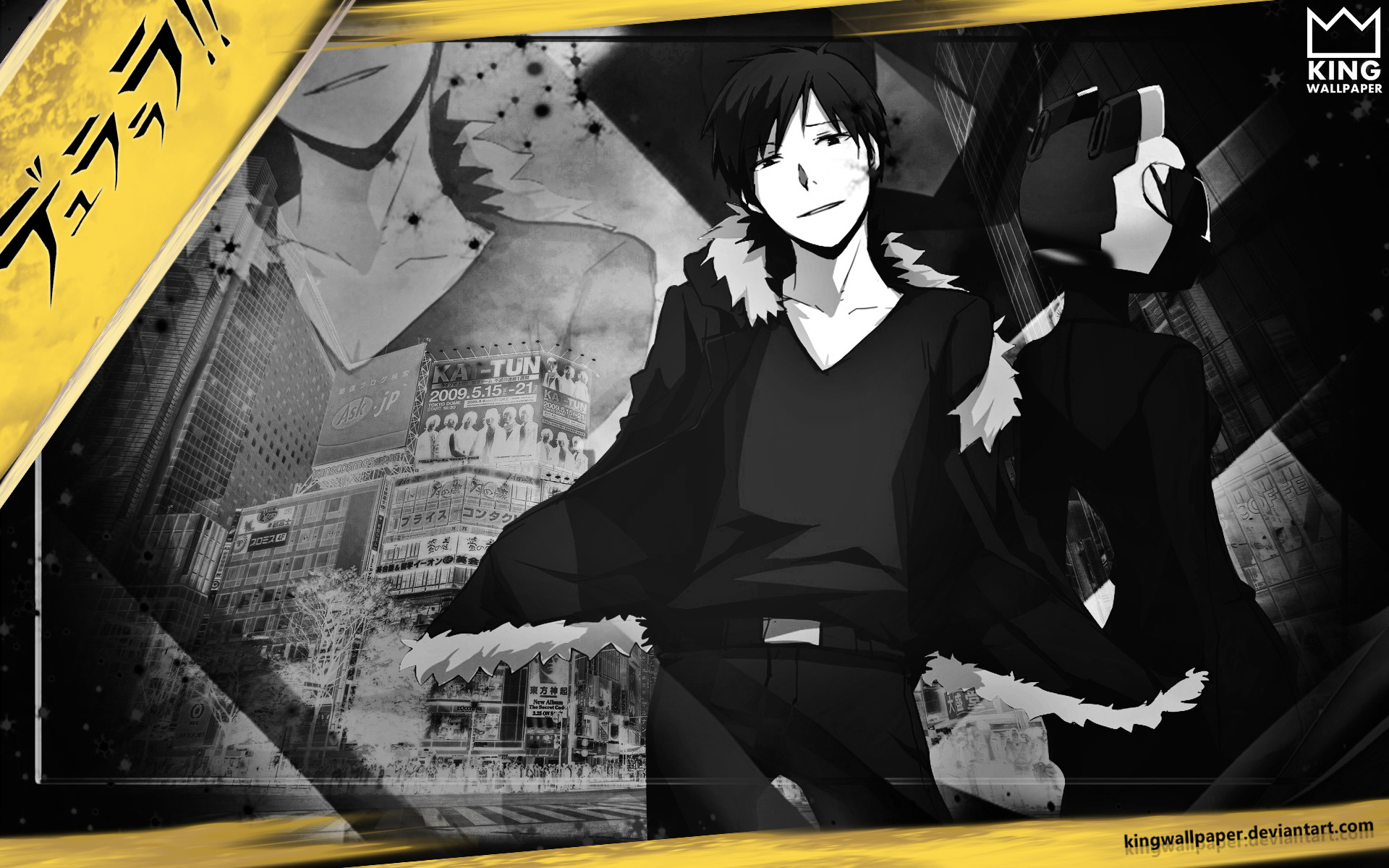 1920x1200 ... Durarara x2 ten Wallpaper - by @kingwallpaper by Kingwallpaper