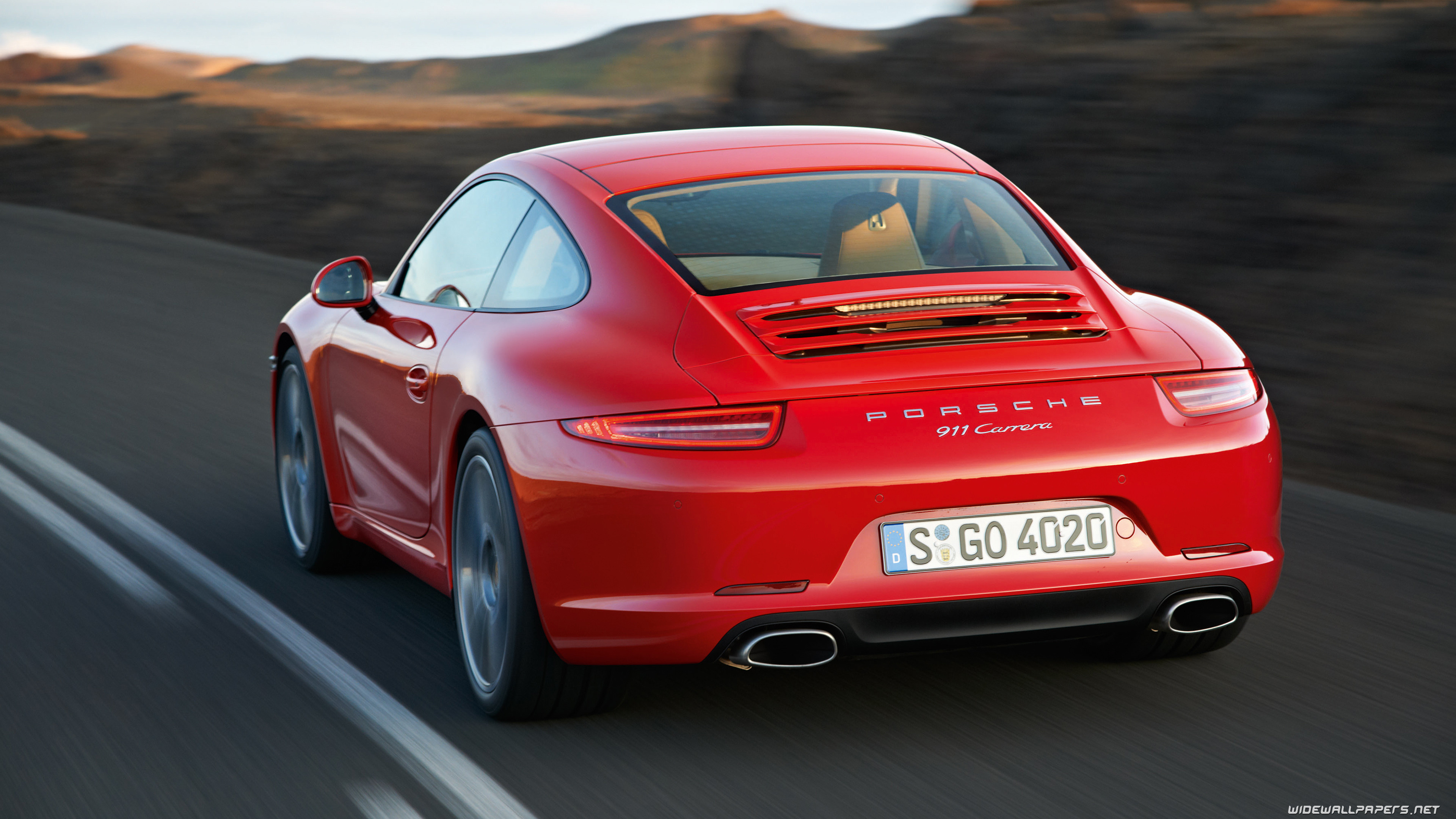3840x2160 Porsche 911 Carrera S Coupe car wallpapers ...