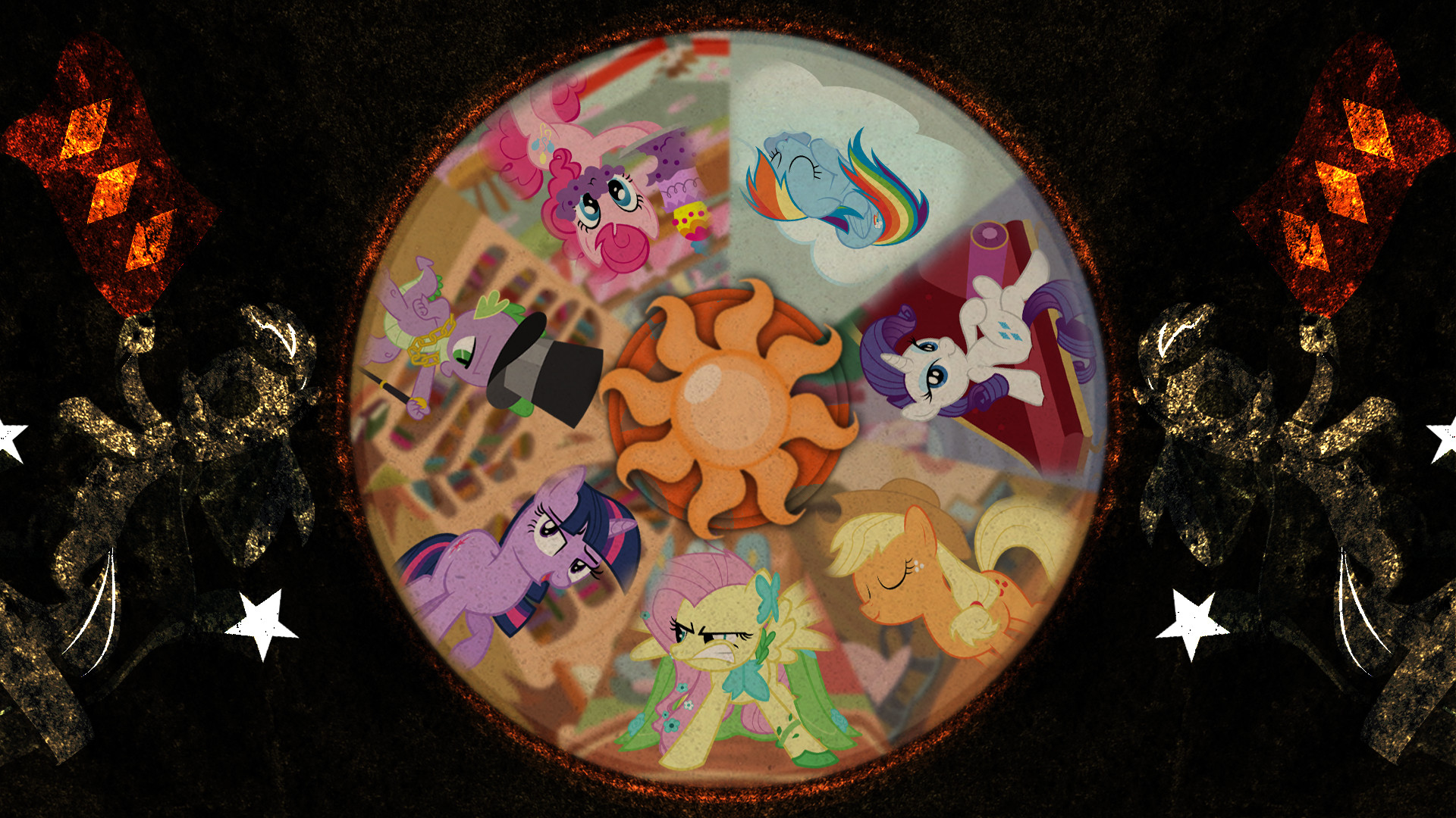 1920x1080 ... The Seven Deadly Sins and the Two Pony Things by Meteor-Venture