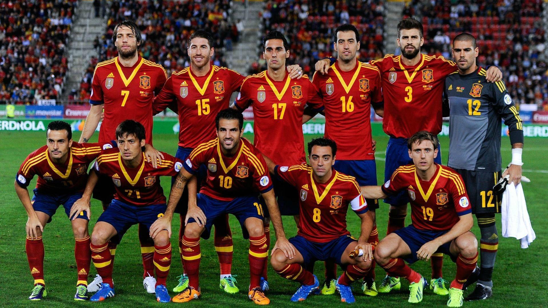 Mannschaft Spanisch