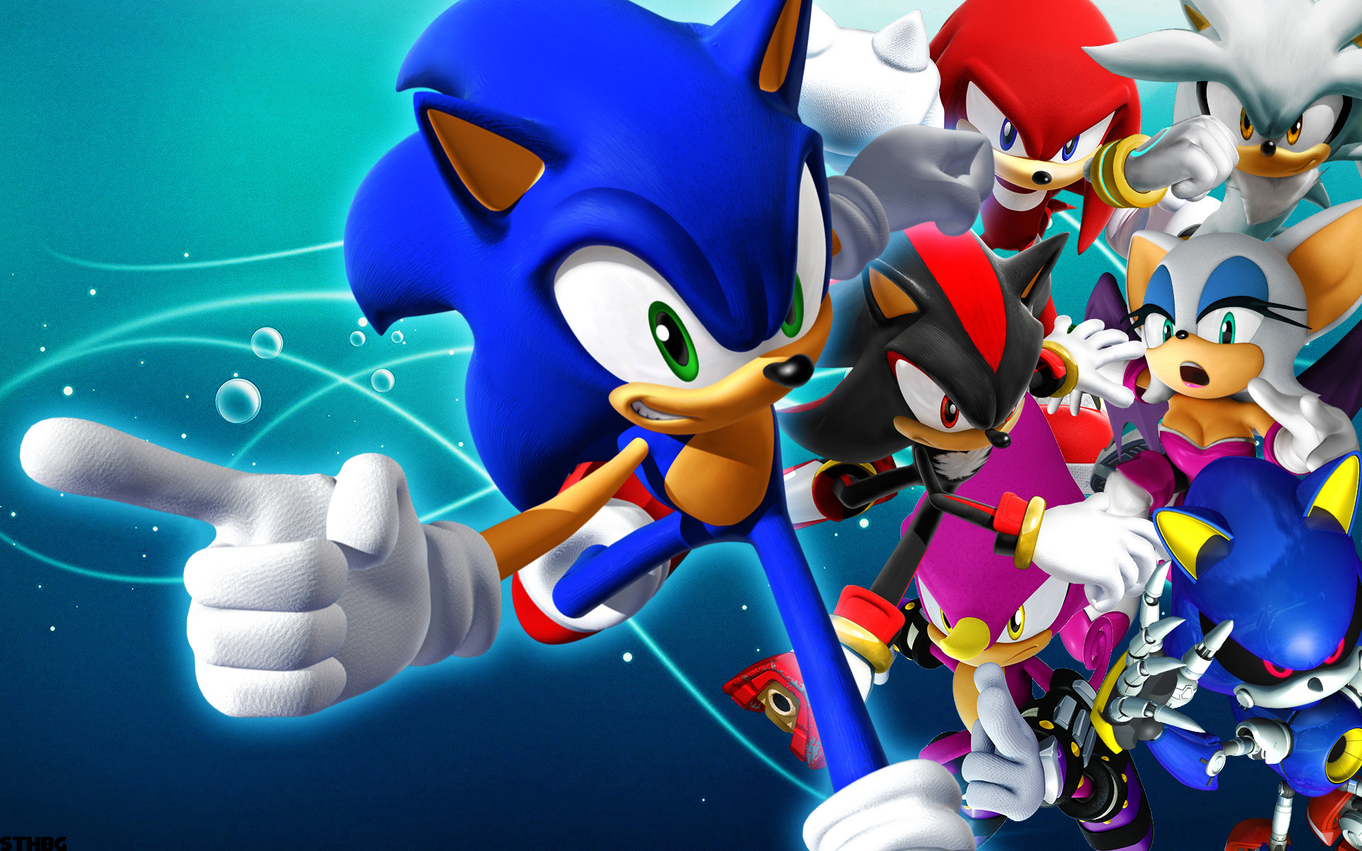1920x1200 Sonic Rivals Wallpaper by SonicTheHedgehogBG