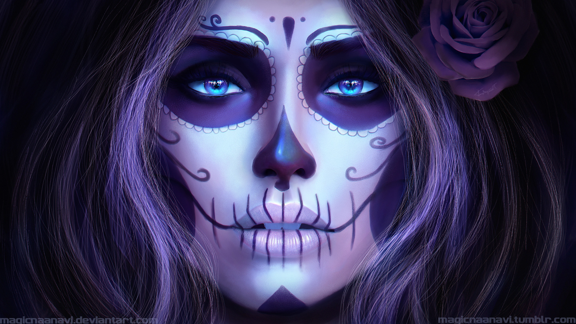Day Of The Dead Wallpaper 68 Images