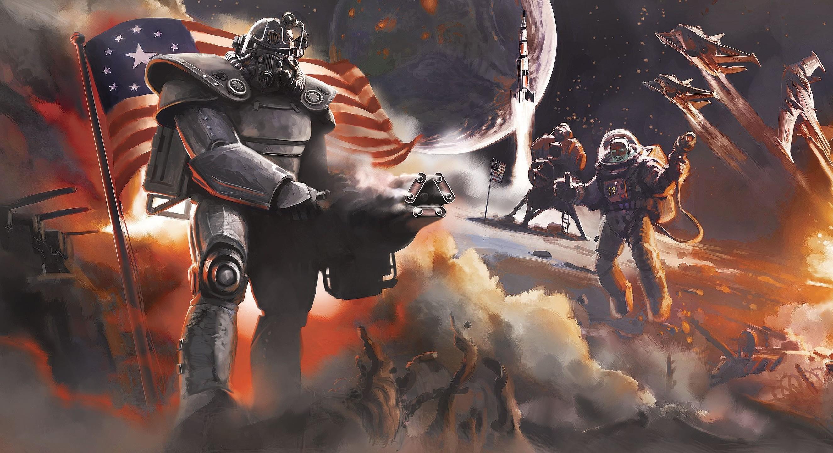 Fallout 4 Concept Art Wallpaper (74+ Images