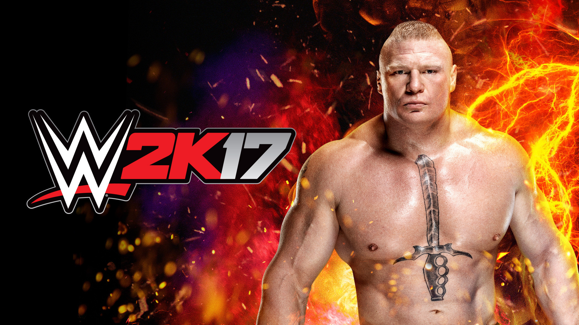 2K17 Brock Lesnar Wallpaper Artwork